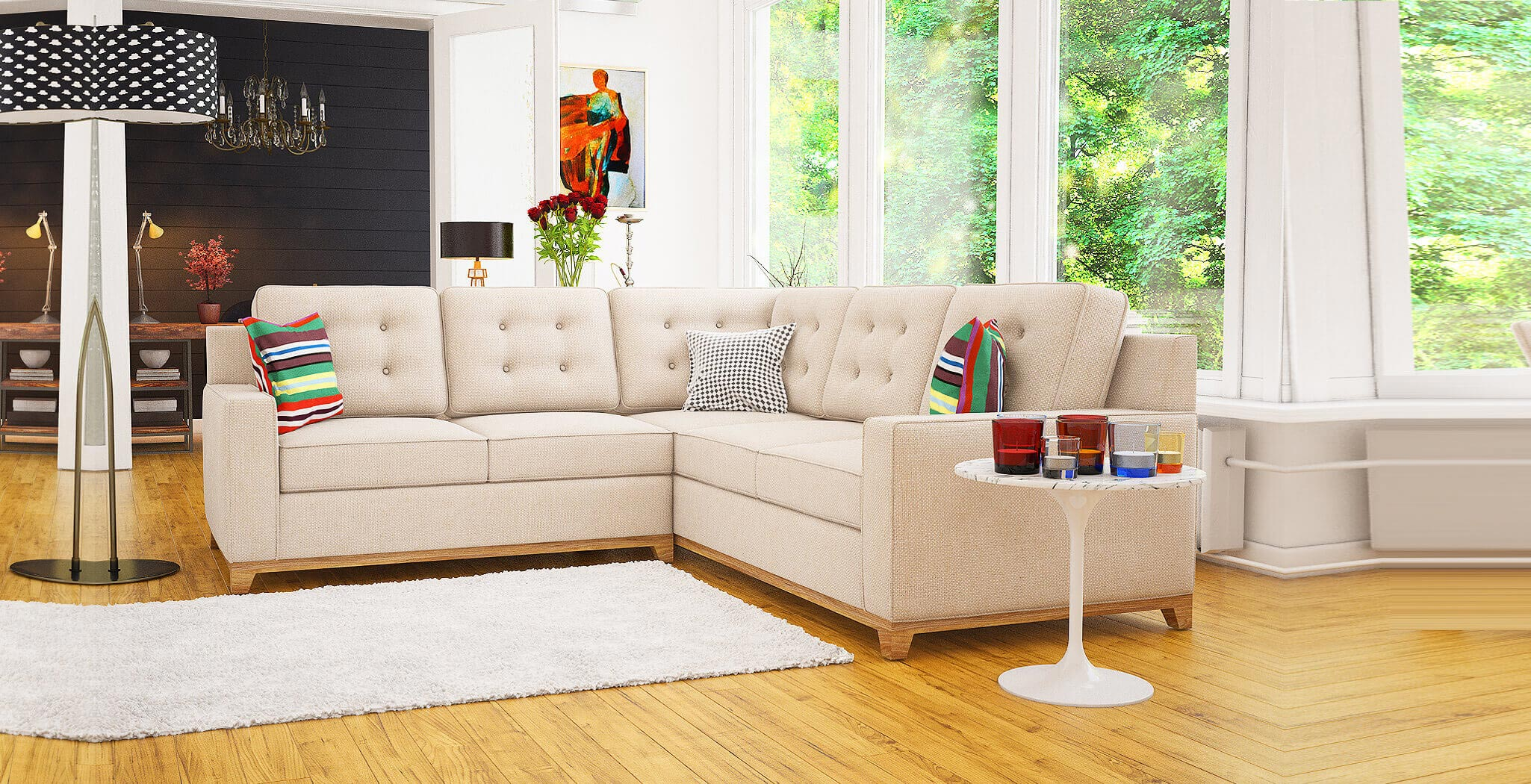 alexandria sectional furniture gallery 1