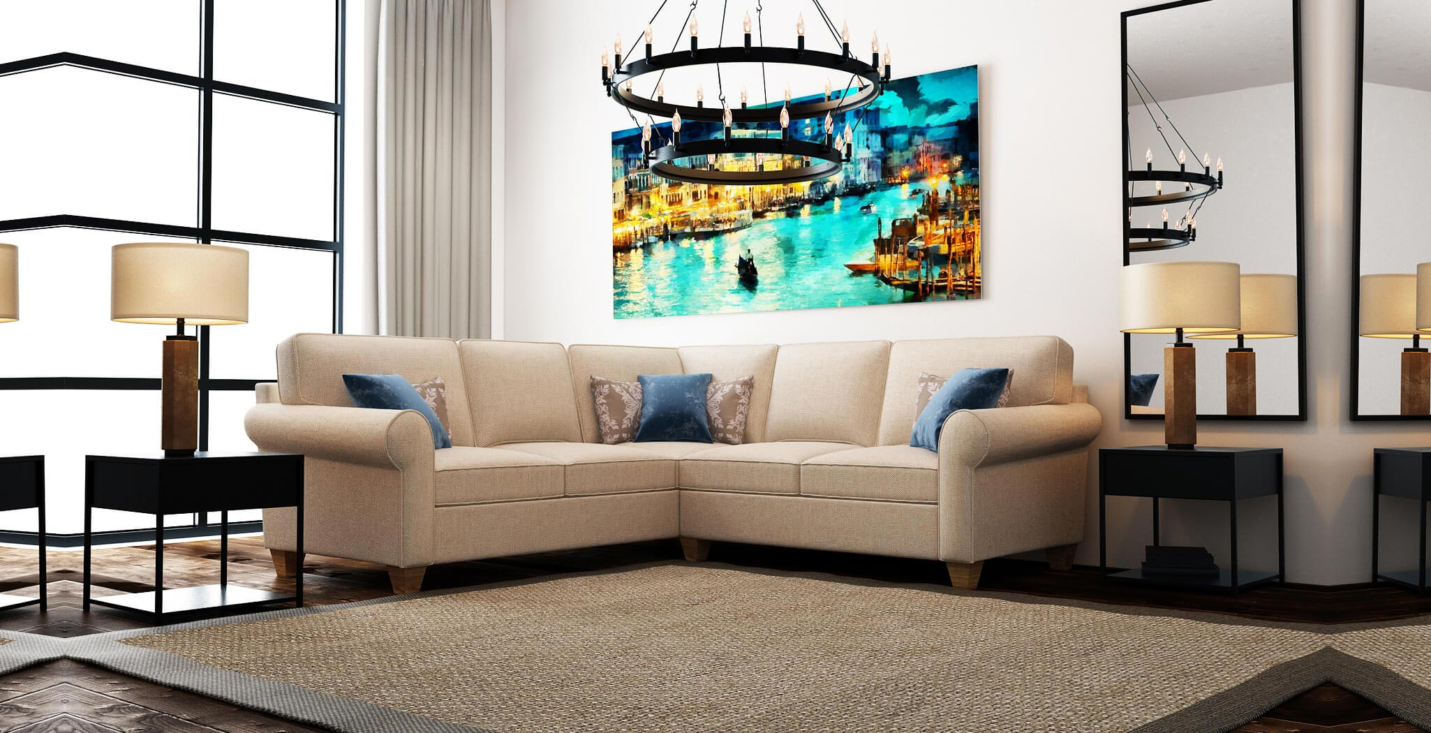 augusta sectional furniture gallery 1