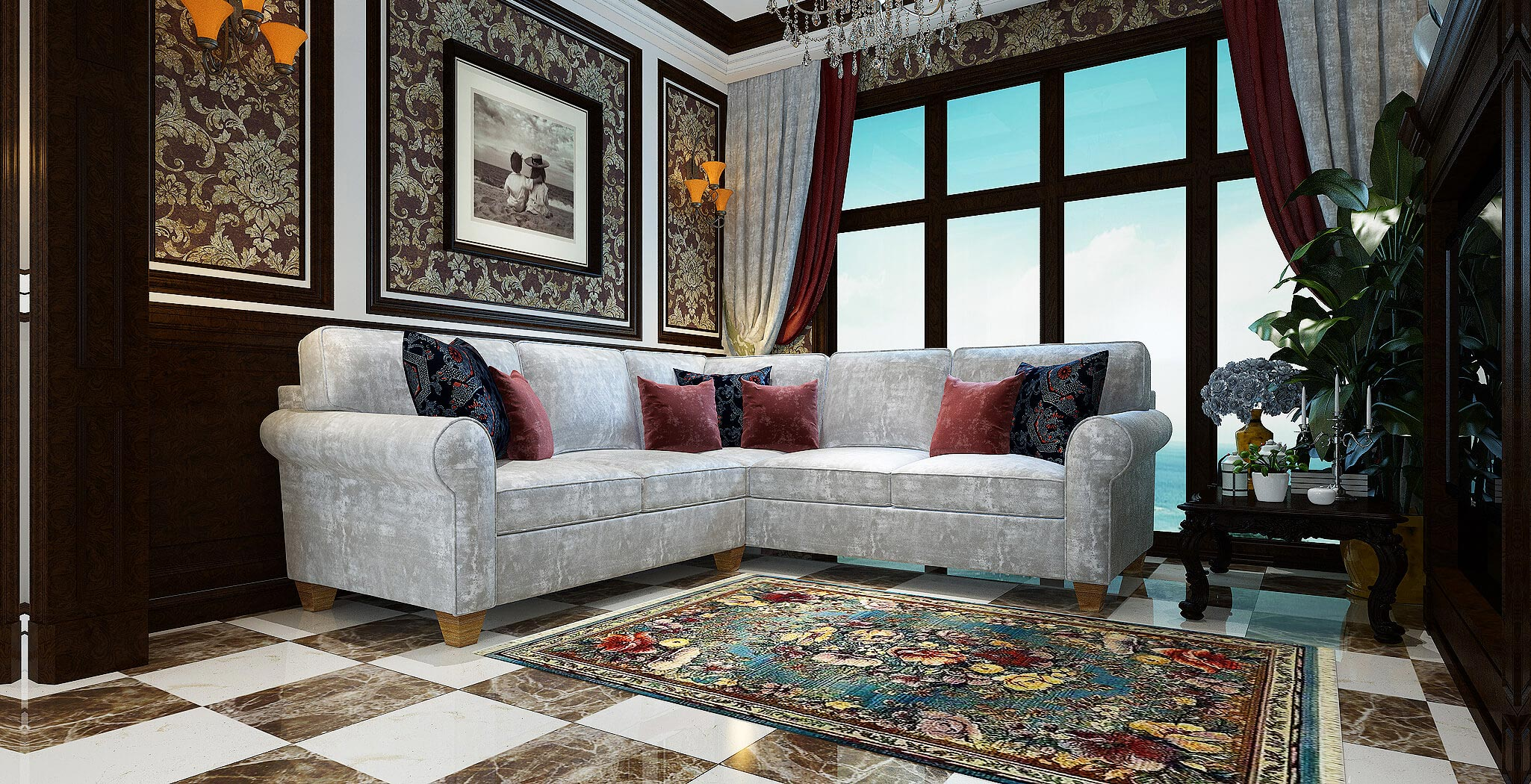 augusta sectional furniture gallery 4