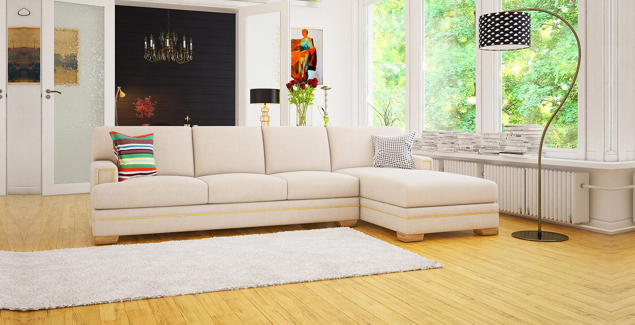 barcelona panel premium furiture DreamSofa