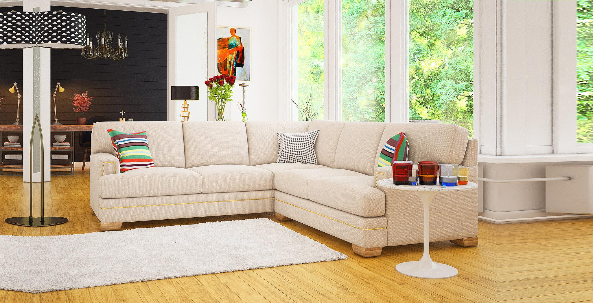 barcelona sectional premium furiture DreamSofa
