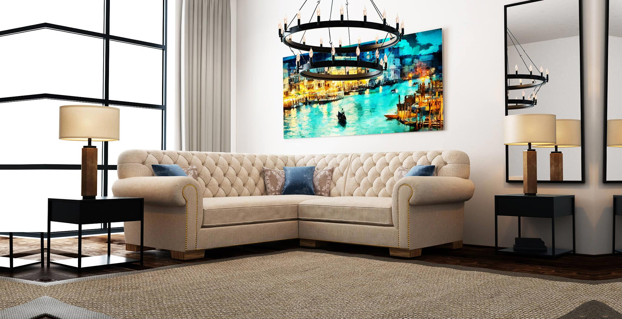 chester sectional furniture gallery 1