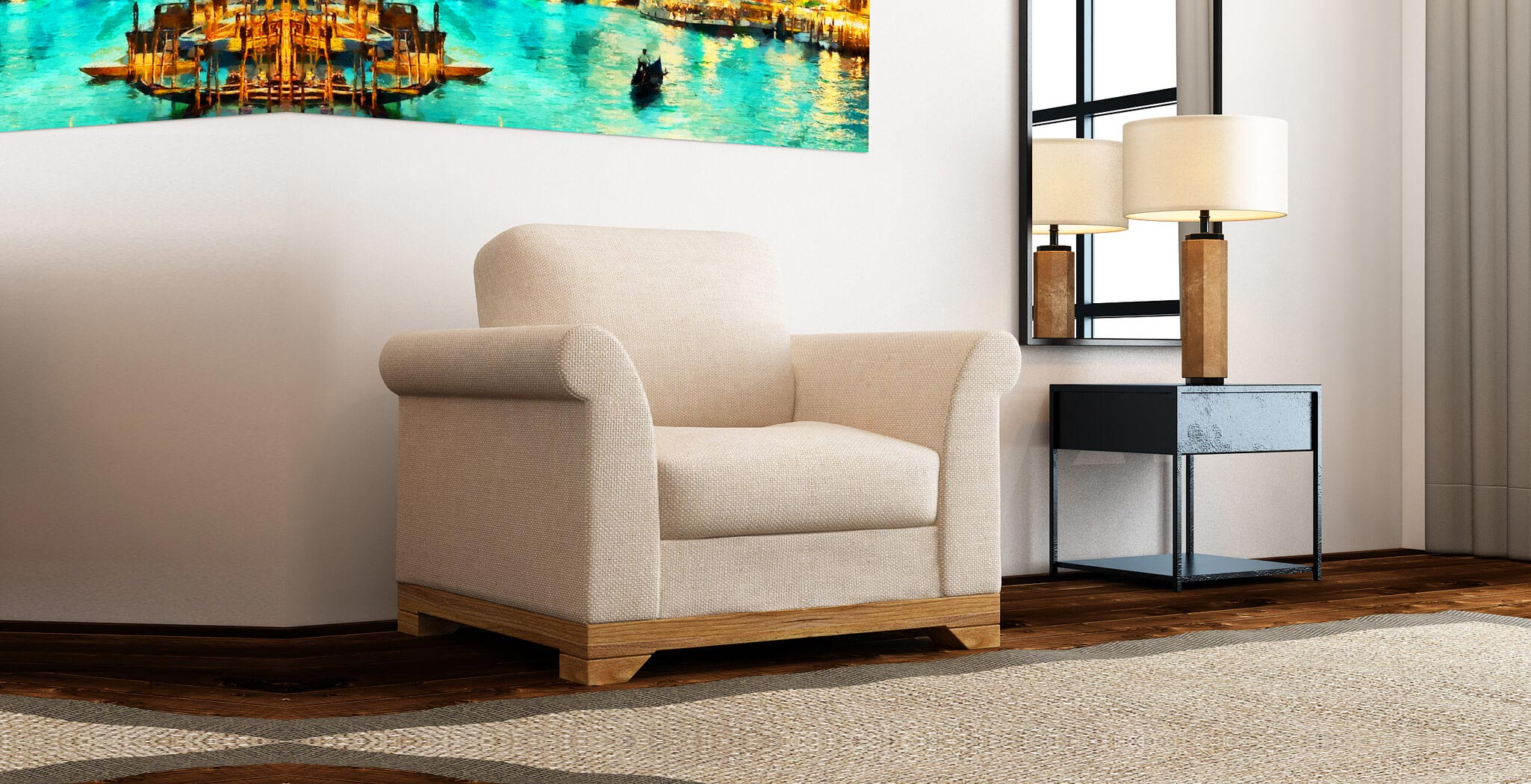 denver chair premium furiture DreamSofa
