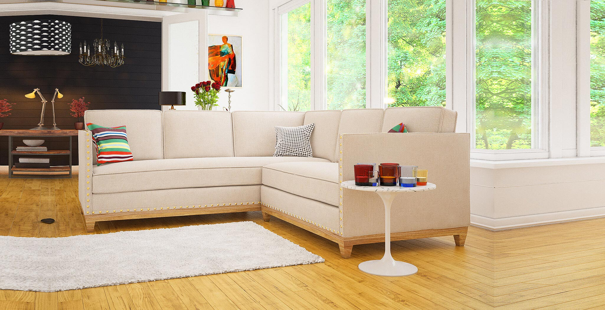 florence sectional furniture gallery 1