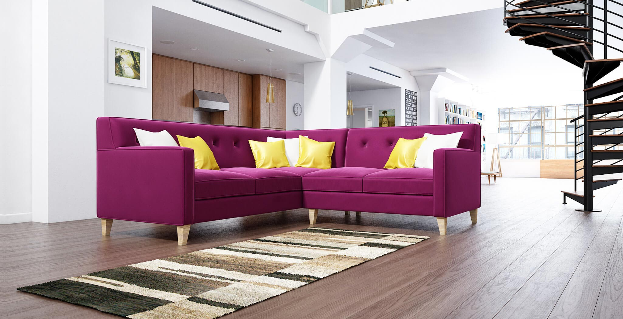 harper sectional furniture gallery 3