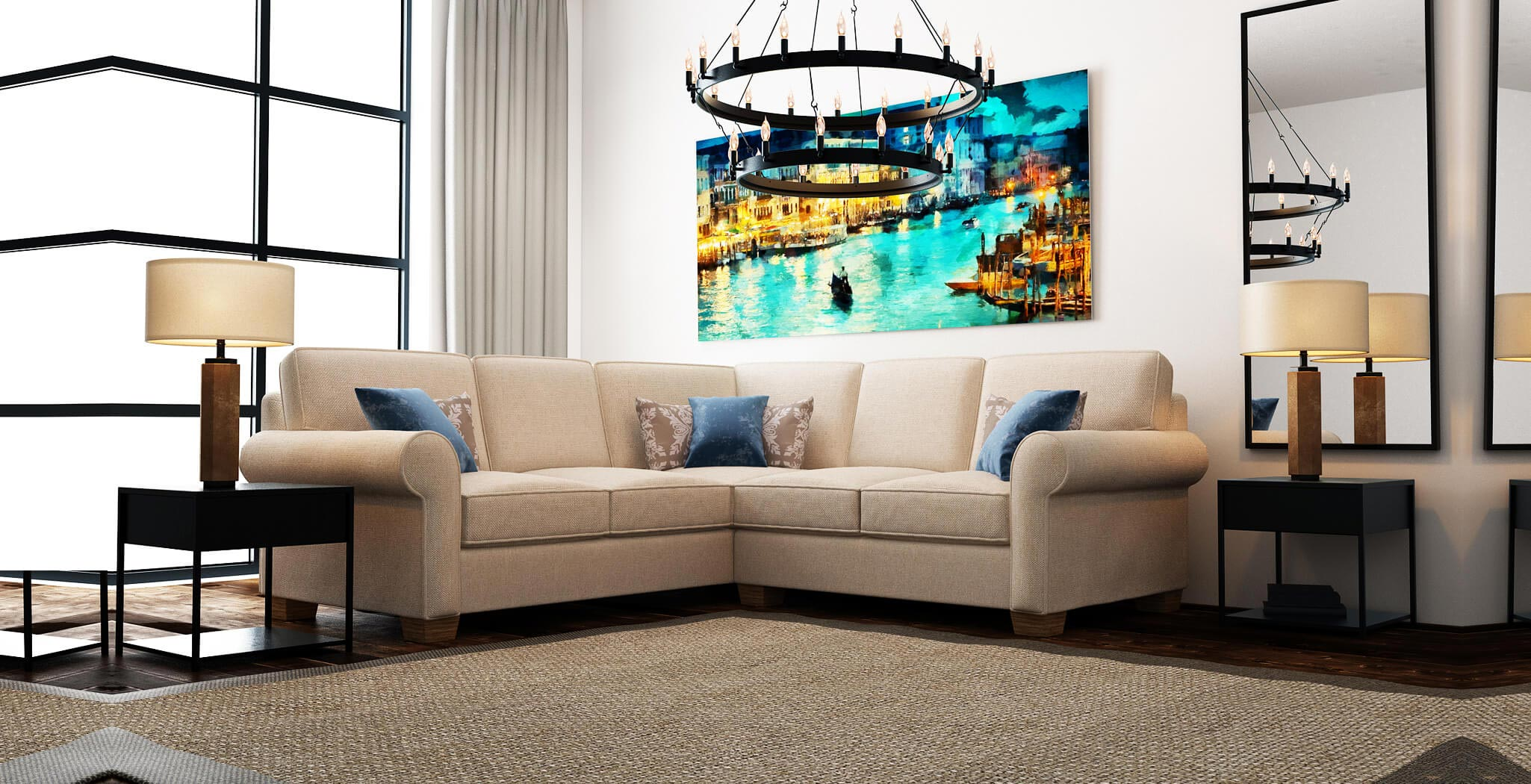 isabel sectional furniture gallery 1