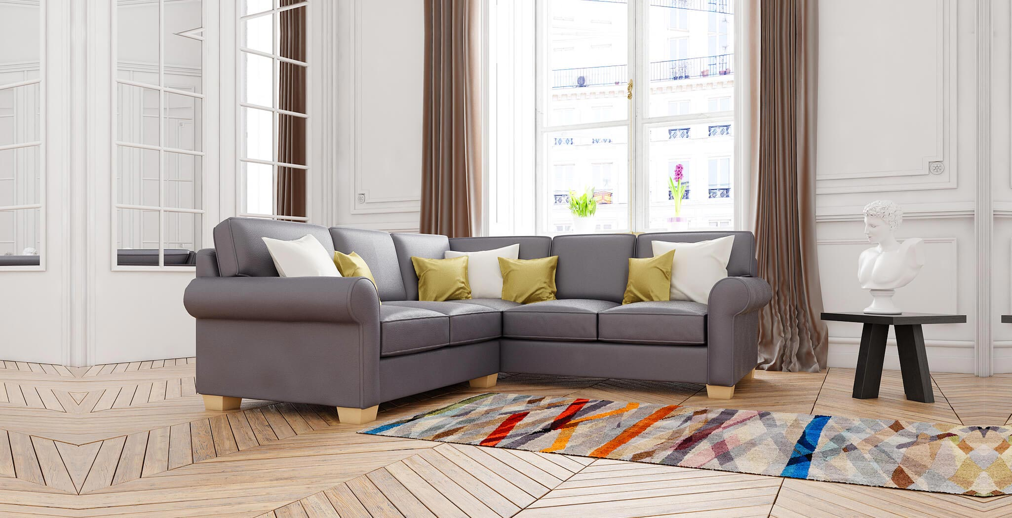 isabel sectional furniture gallery 3