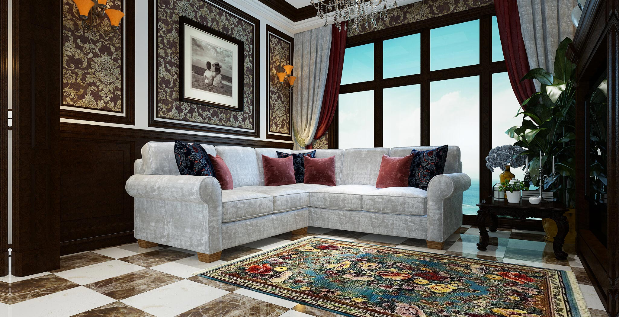isabel sectional furniture gallery 4