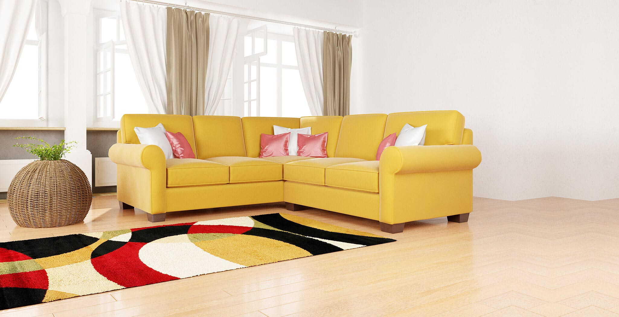 isabel sectional furniture gallery 5