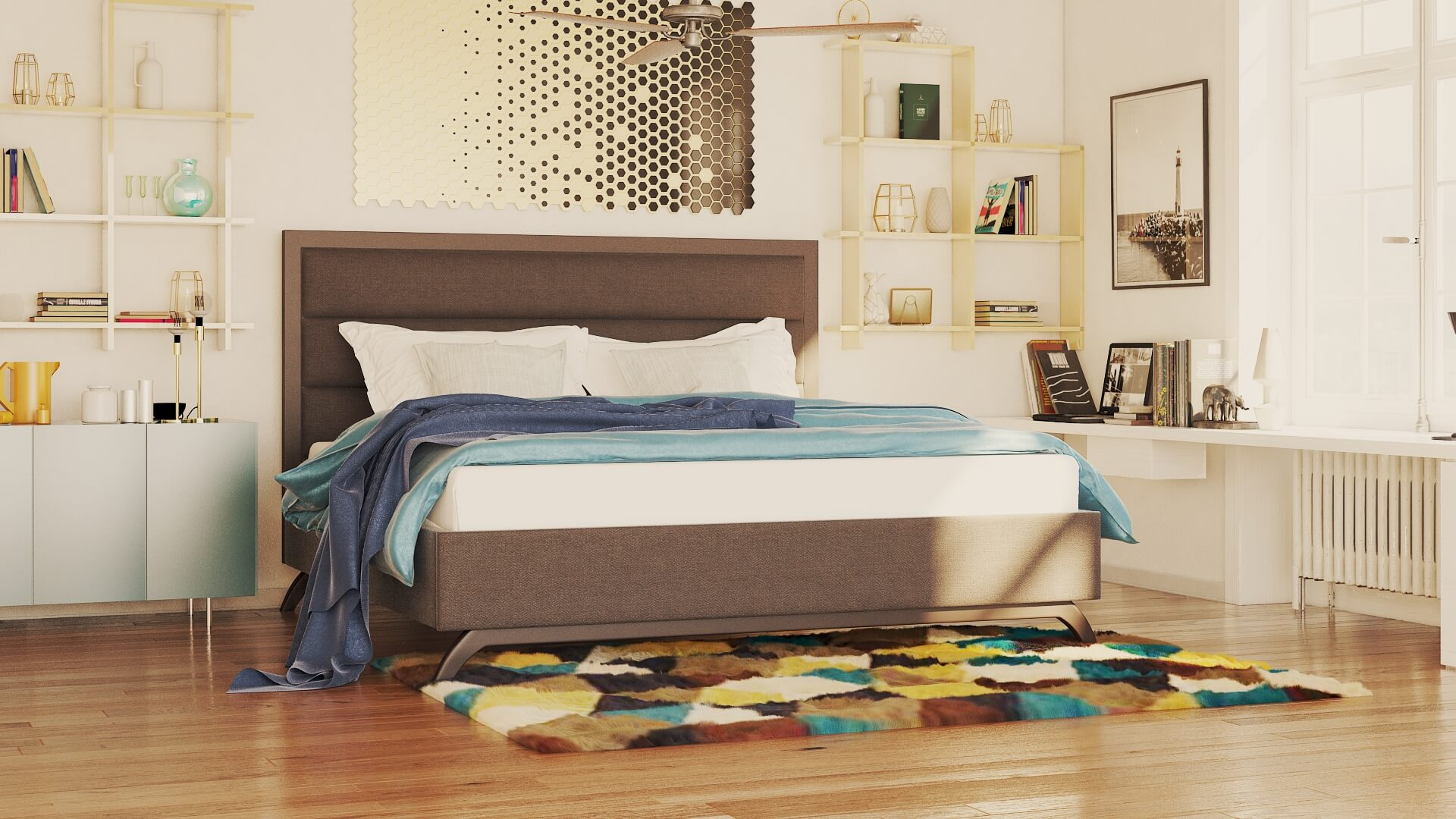 meliano bed furniture gallery 3