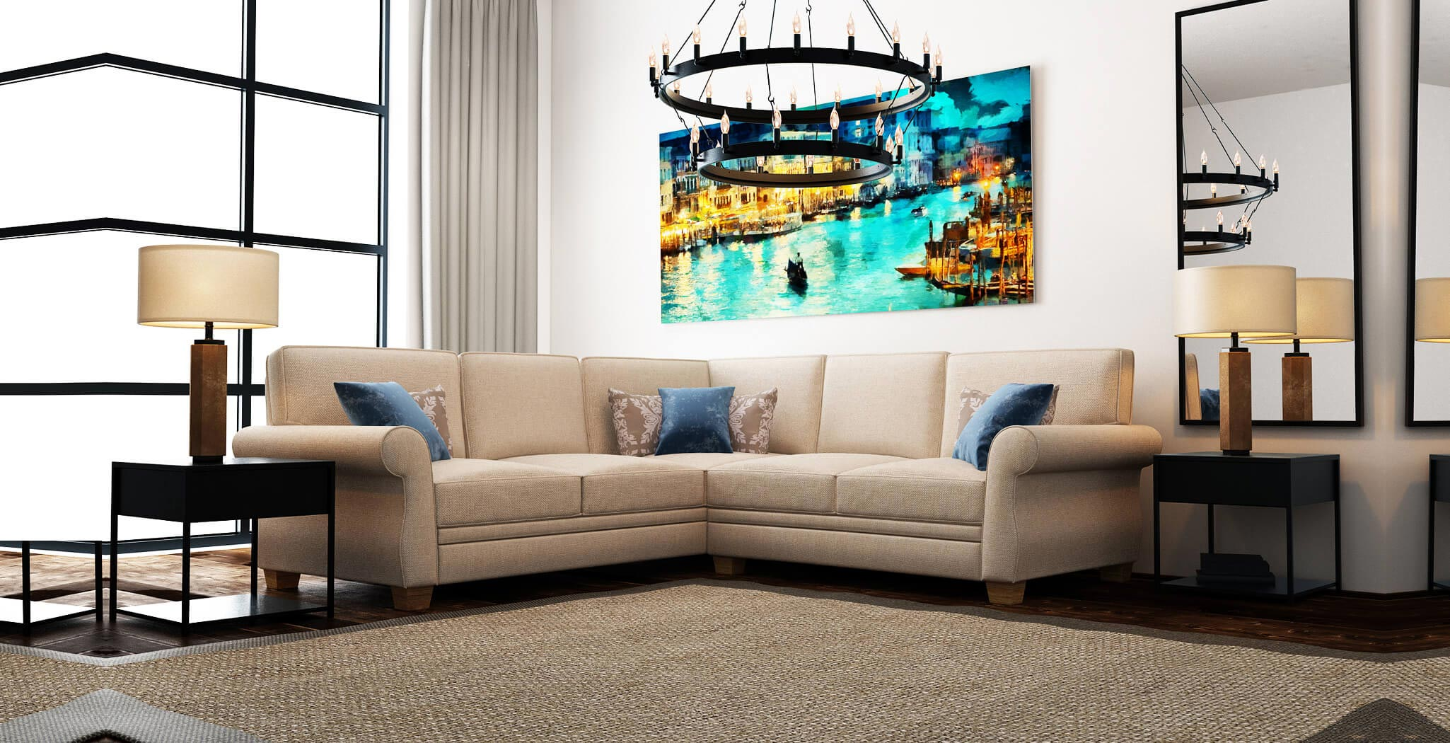 rome sectional furniture gallery 1