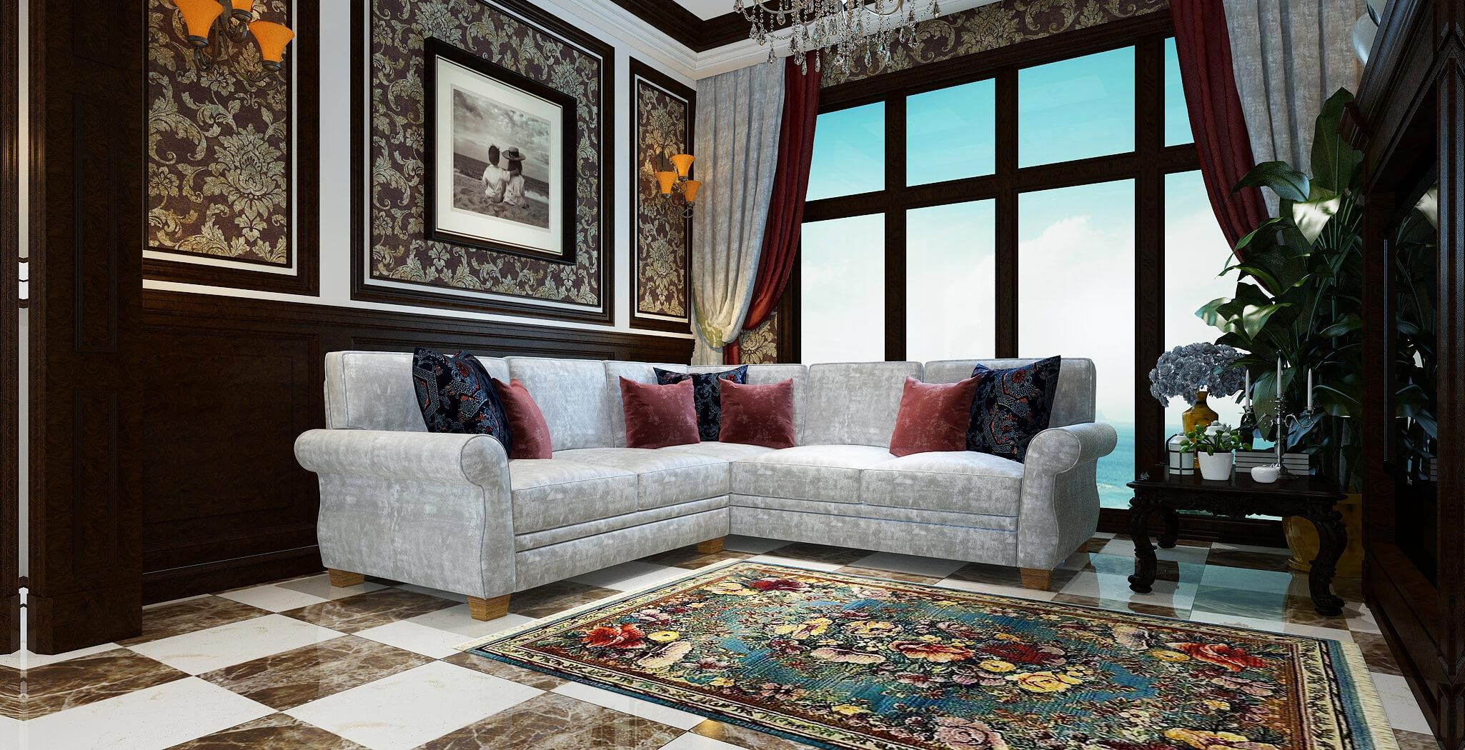 rome sectional furniture gallery 4