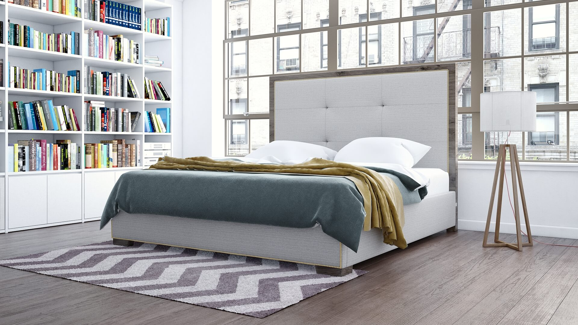 talia bed premium furiture DreamSofa