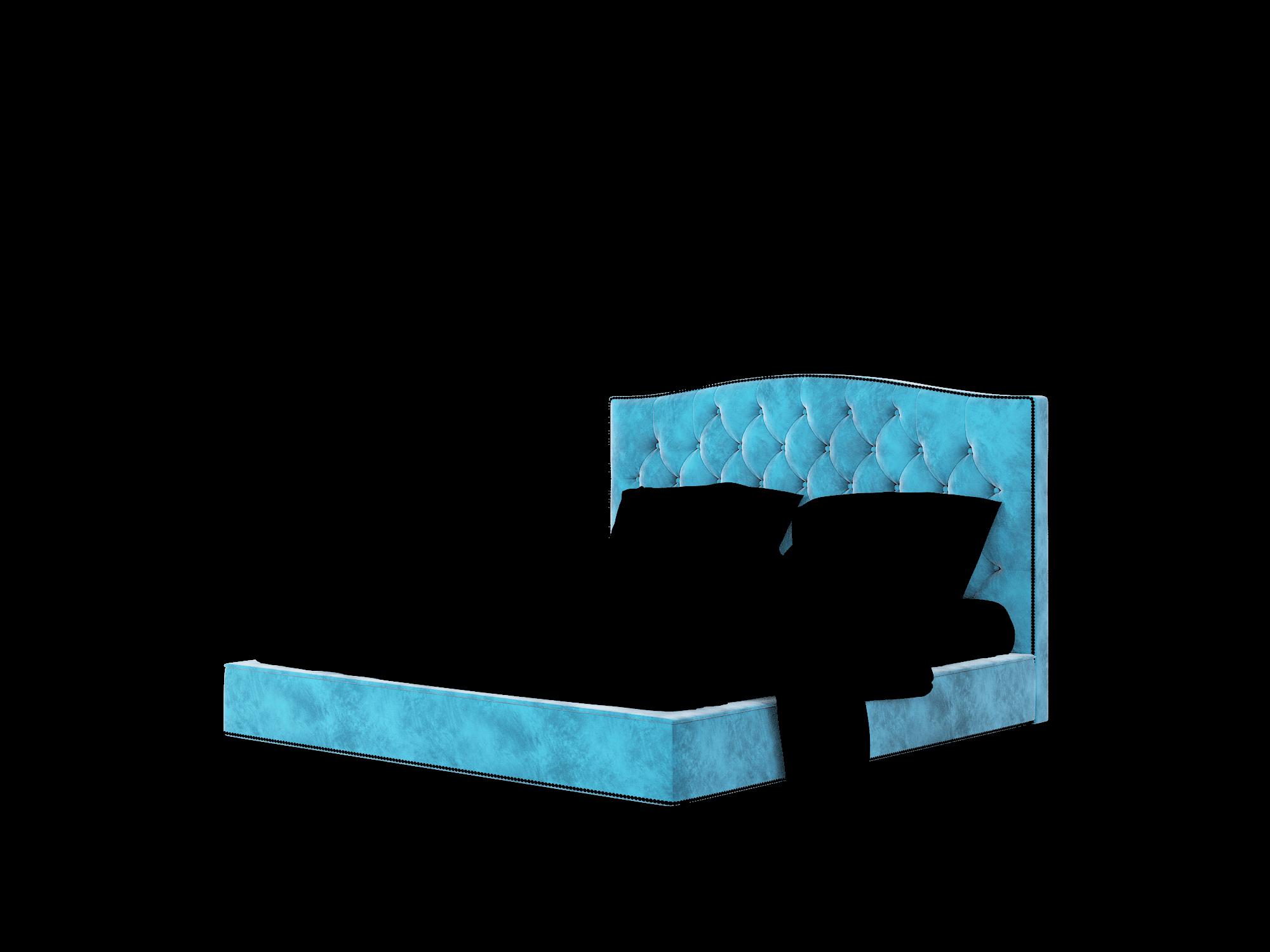 Bijou Buzz Teal Bed King Room Texture