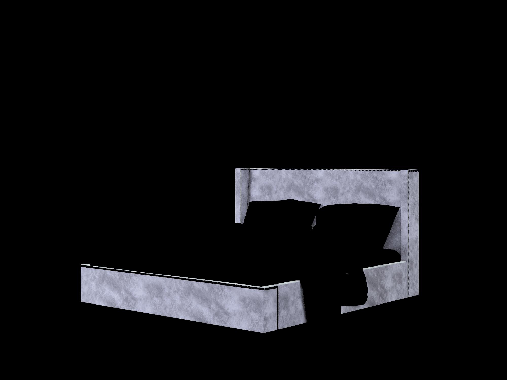 Bria Buzz Coal Bed King Room Texture