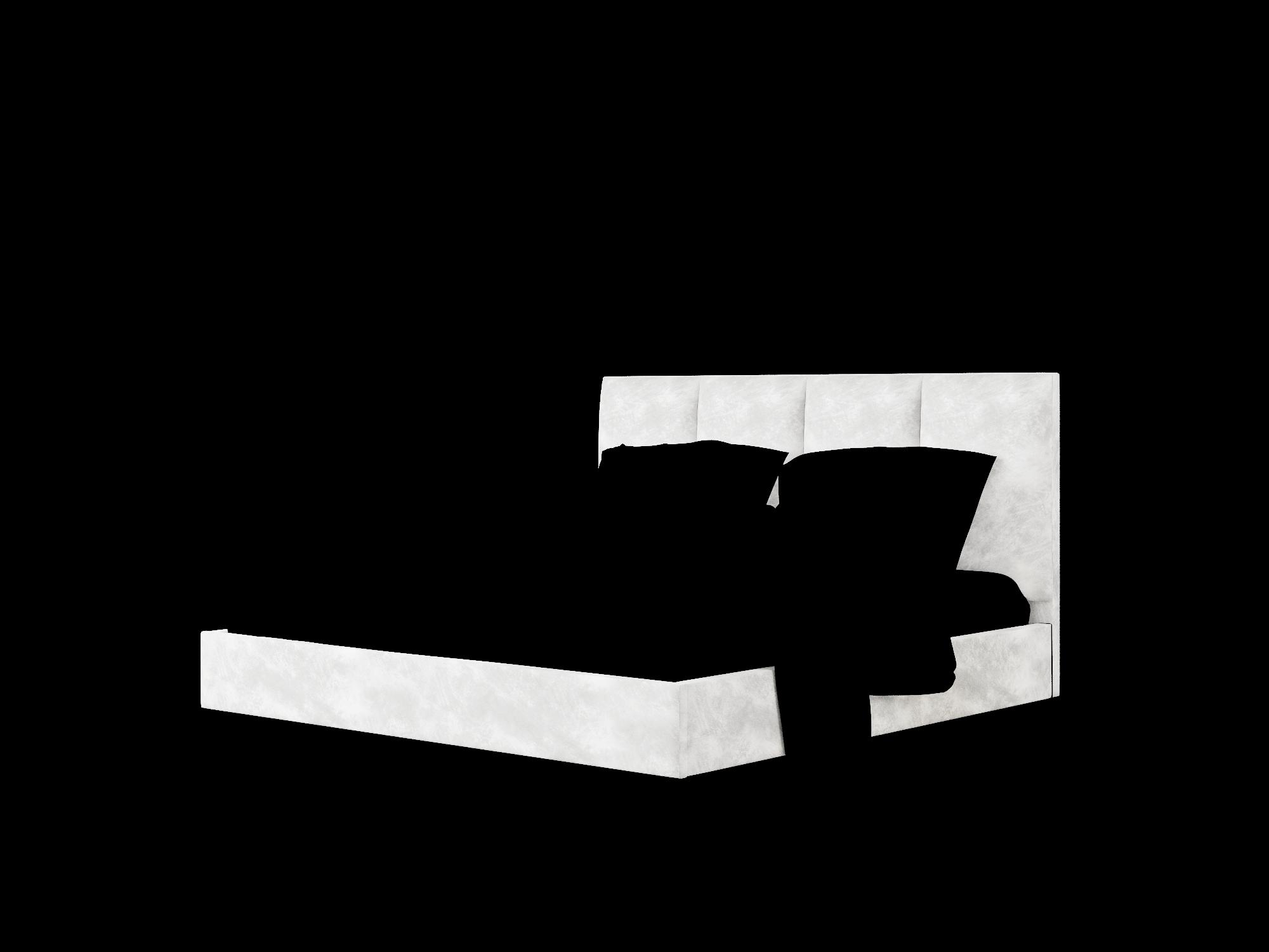 Celine Loft Snowfall Bed King Room Texture