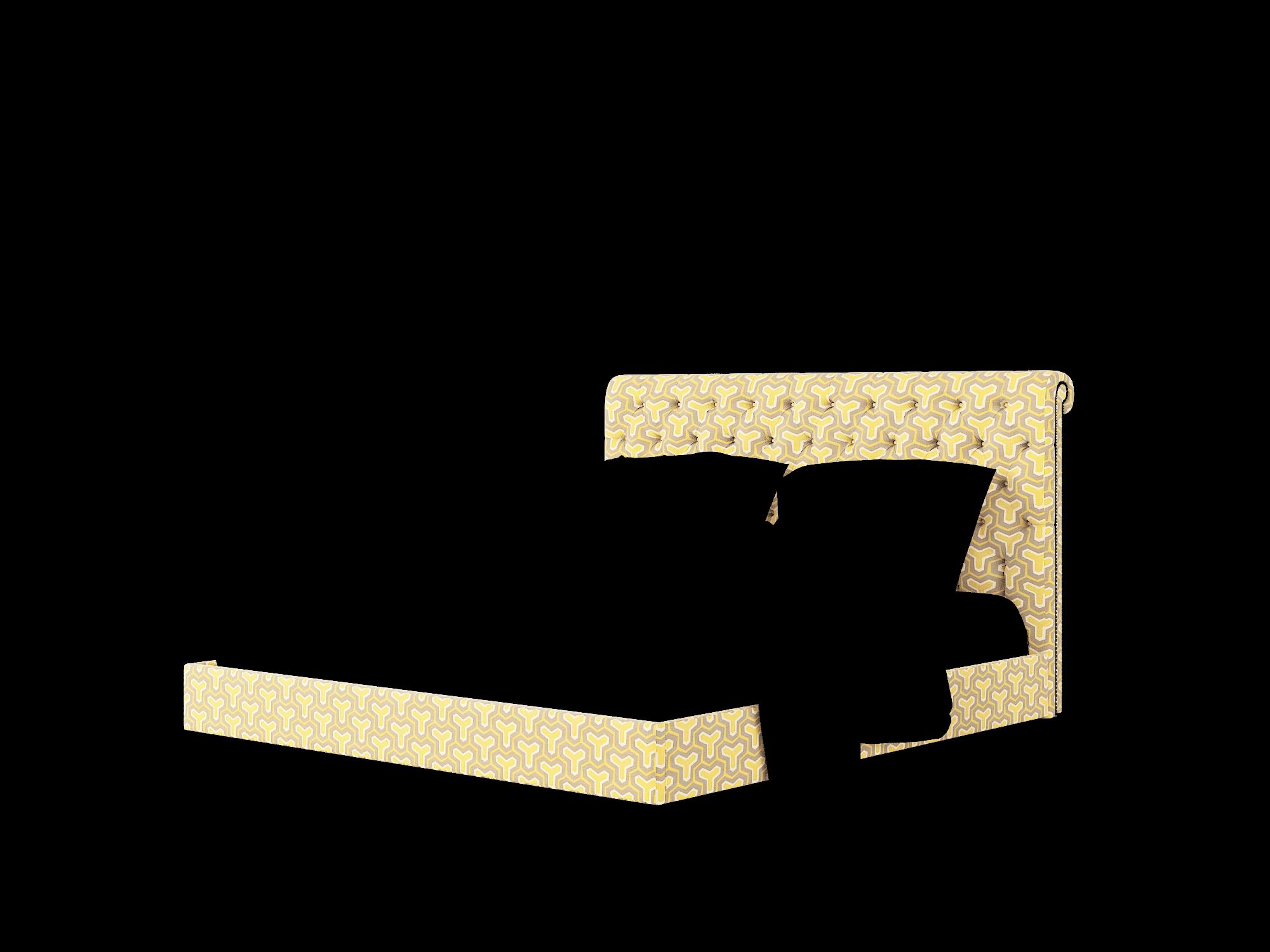 Decima Merci Dijon Bed King Room Texture