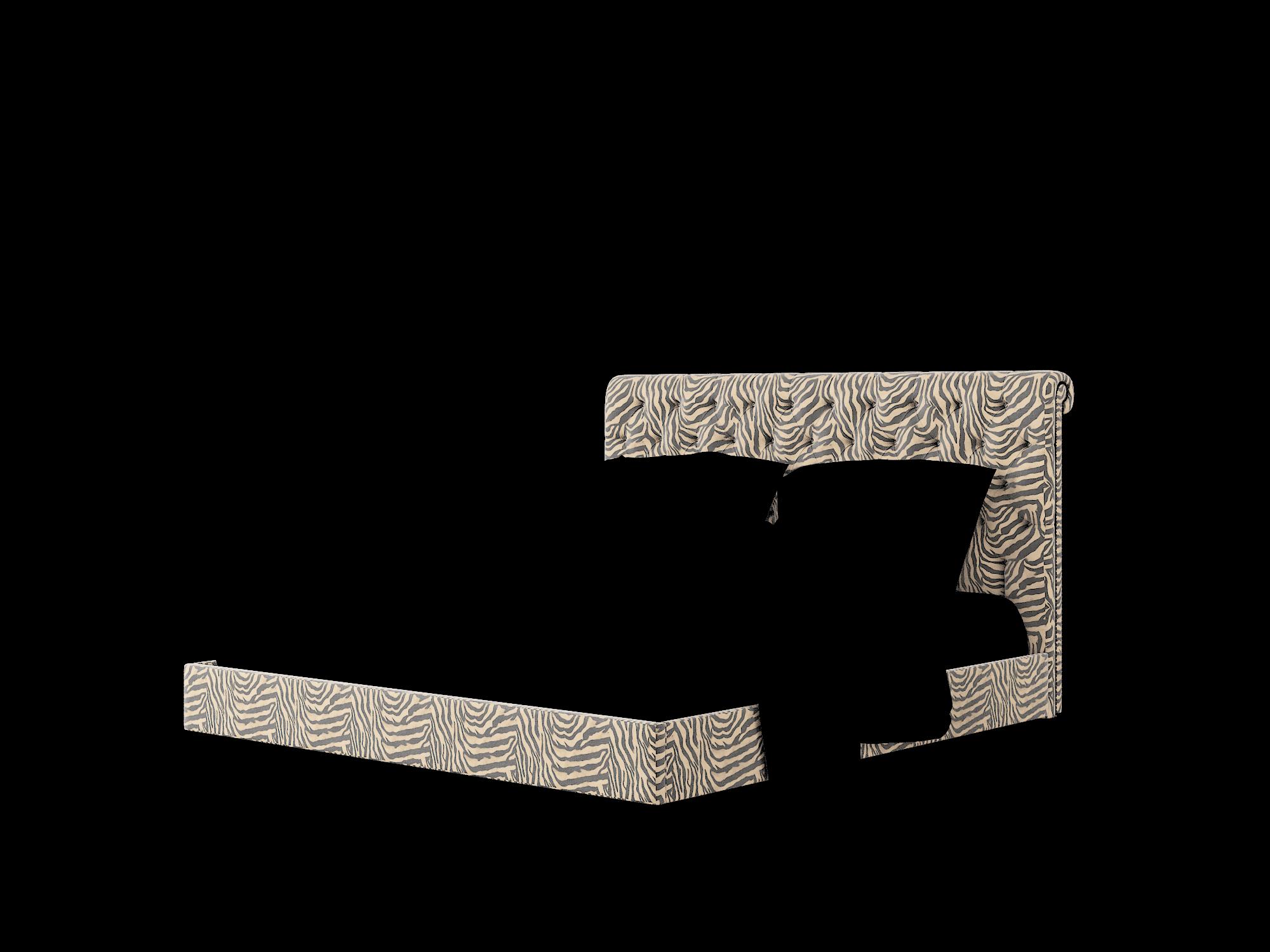 Decima Zambia Coffee Bed King Room Texture