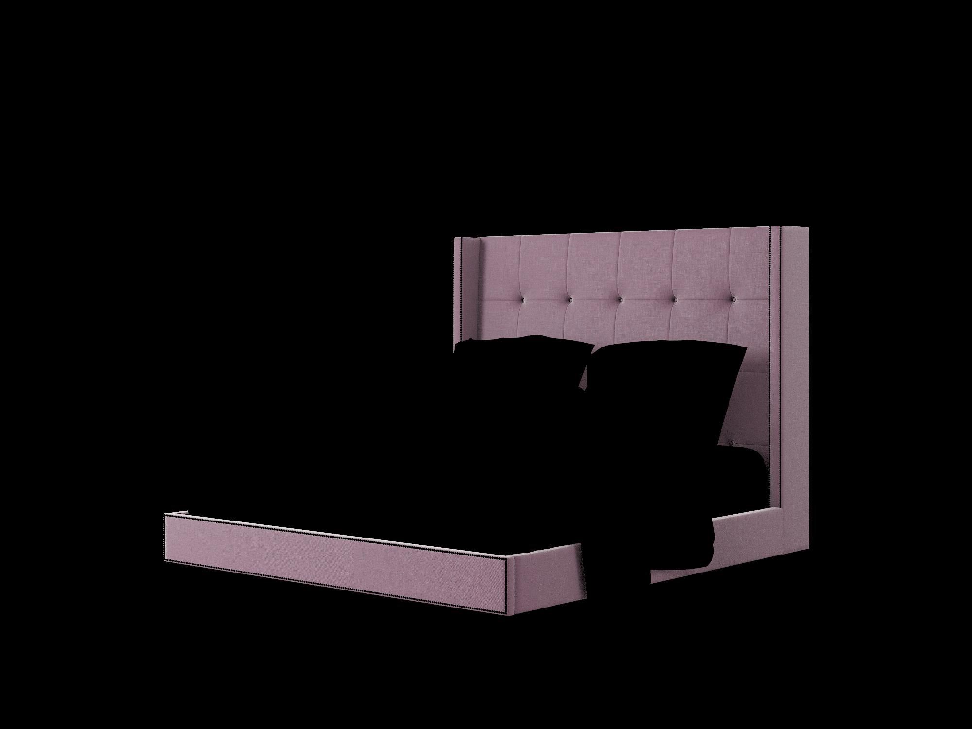 Elias Bella Aubergine Bed King Room Texture