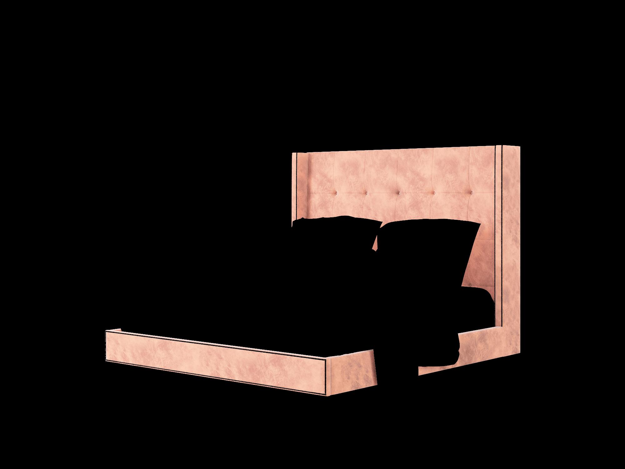 Elias Royale Blush Bed King Room Texture