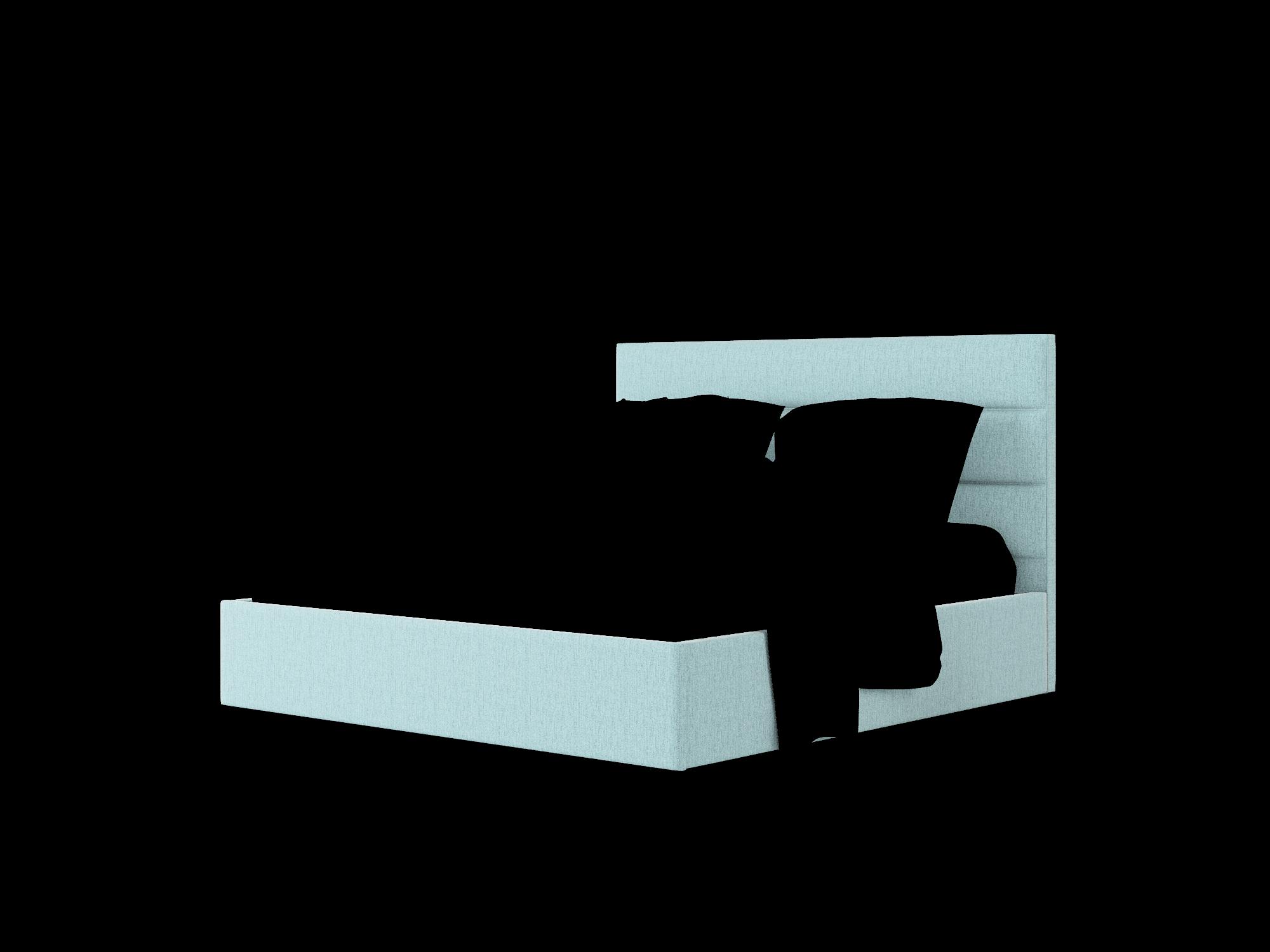 Hannela Sasha Teal Bed King Room Texture