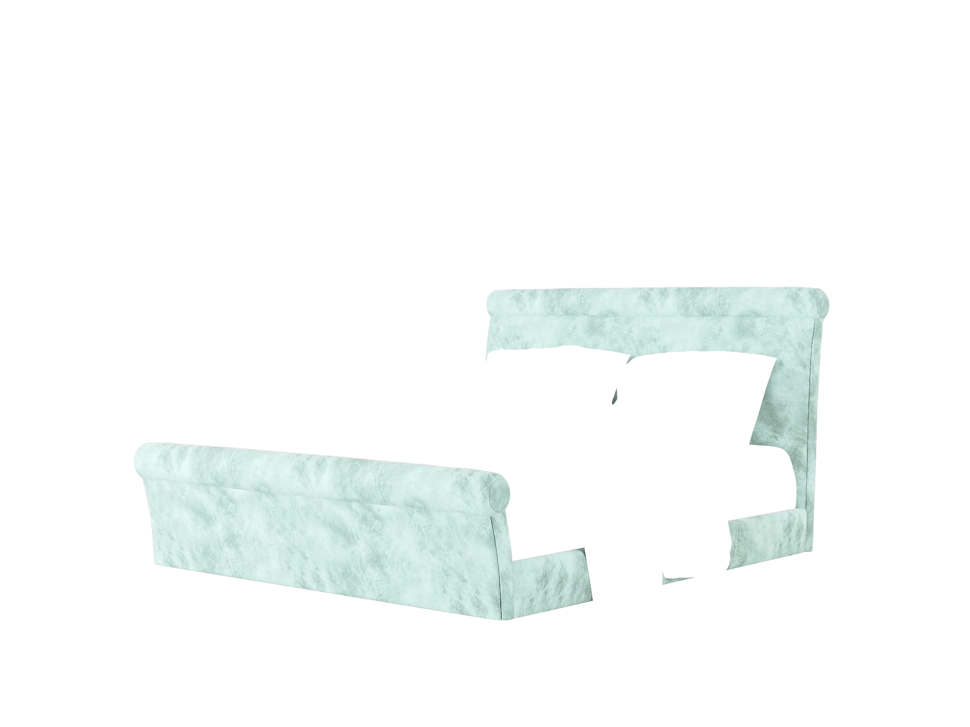 Maja Buzz Sky Bed King Room Texture