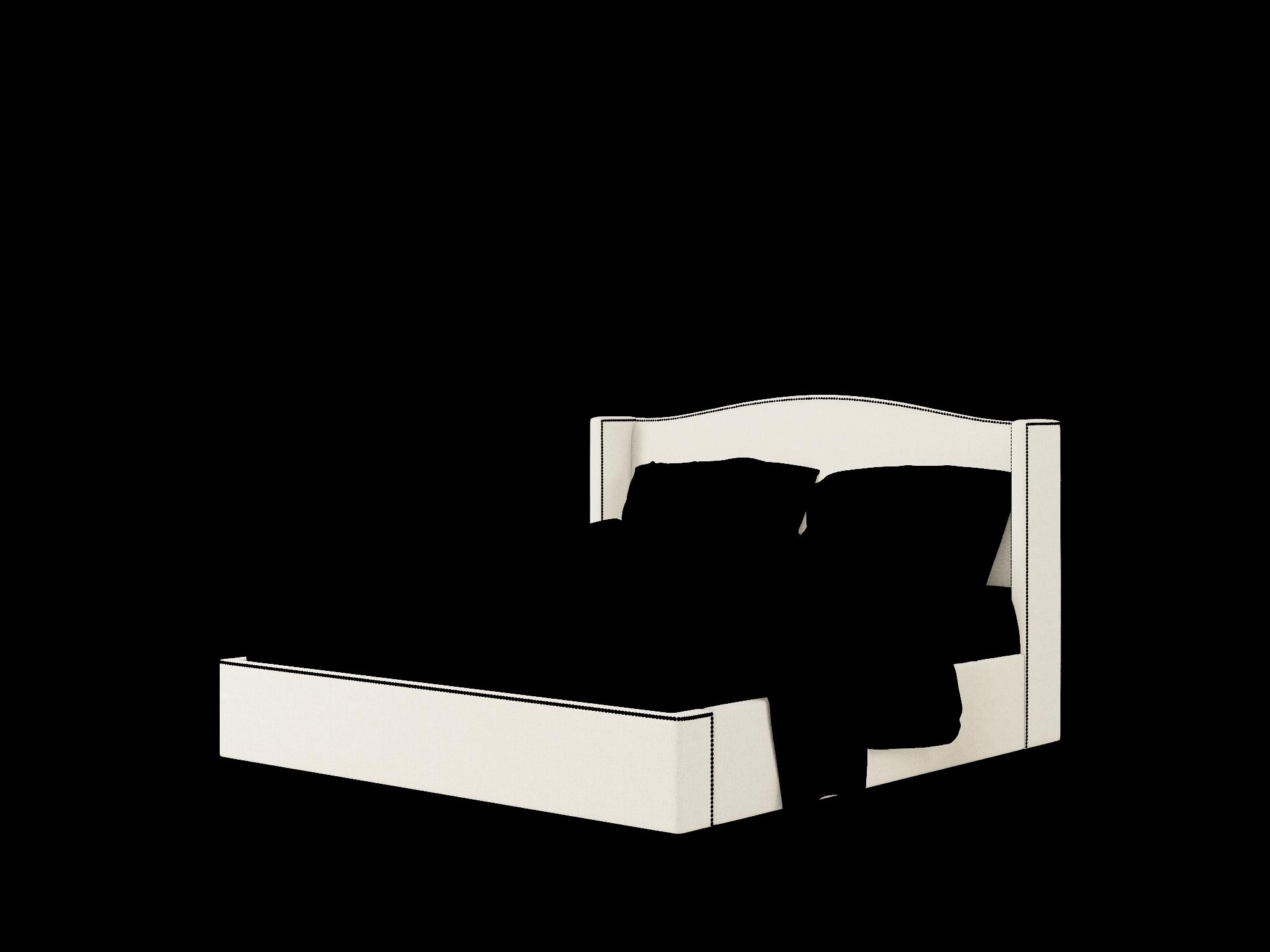 Maya Sasha Linen Bed King Room Texture