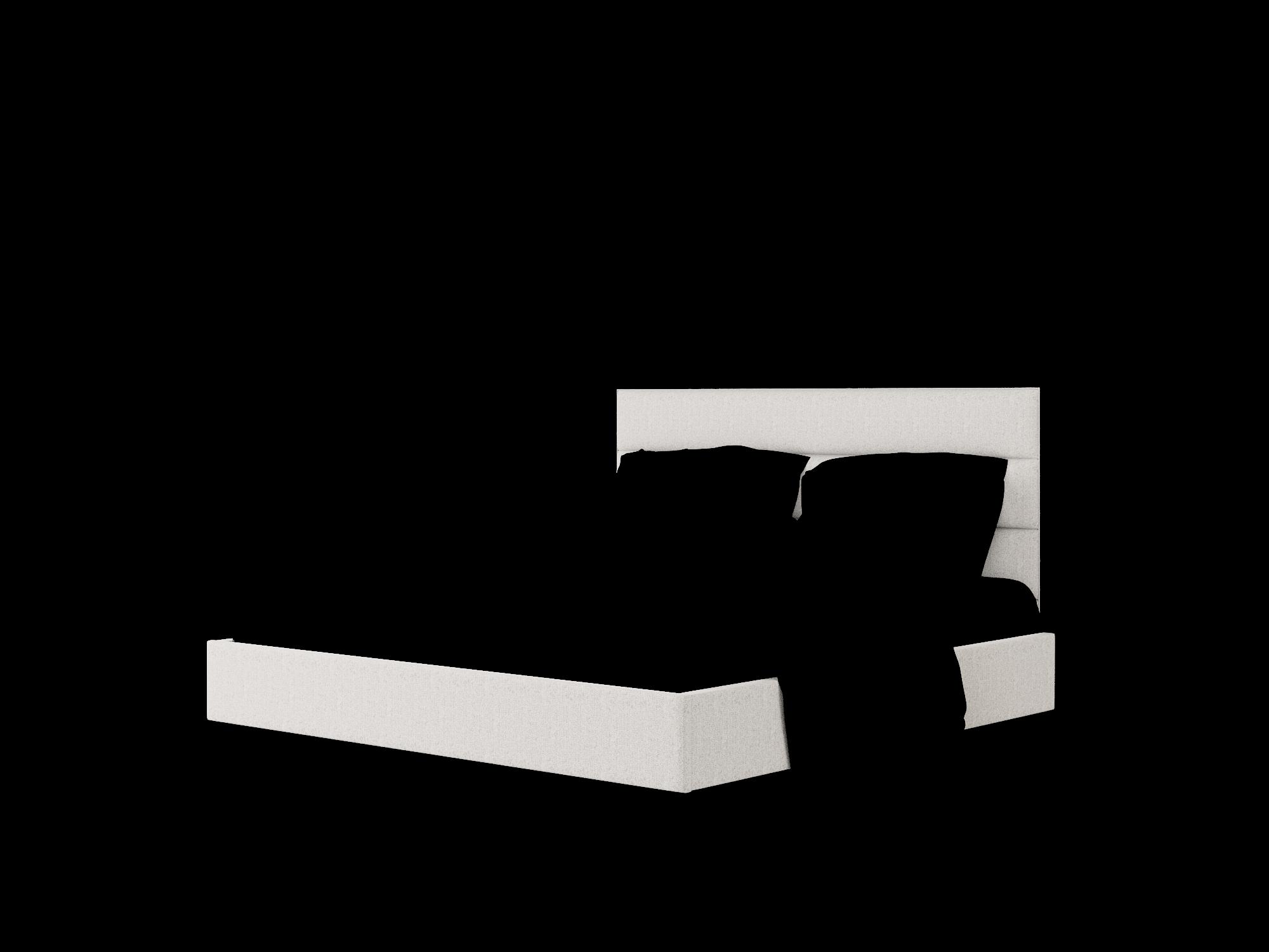 Meliano Sasha Silver Bed King Room Texture