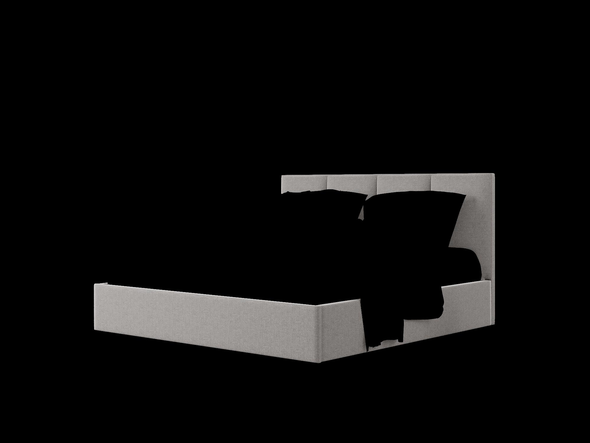 Mia Sasha Grey Bed King Room Texture