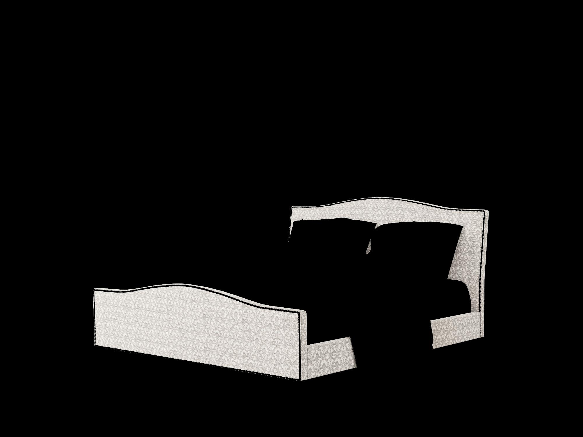 Prato Bergamo Dove Bed King Room Texture