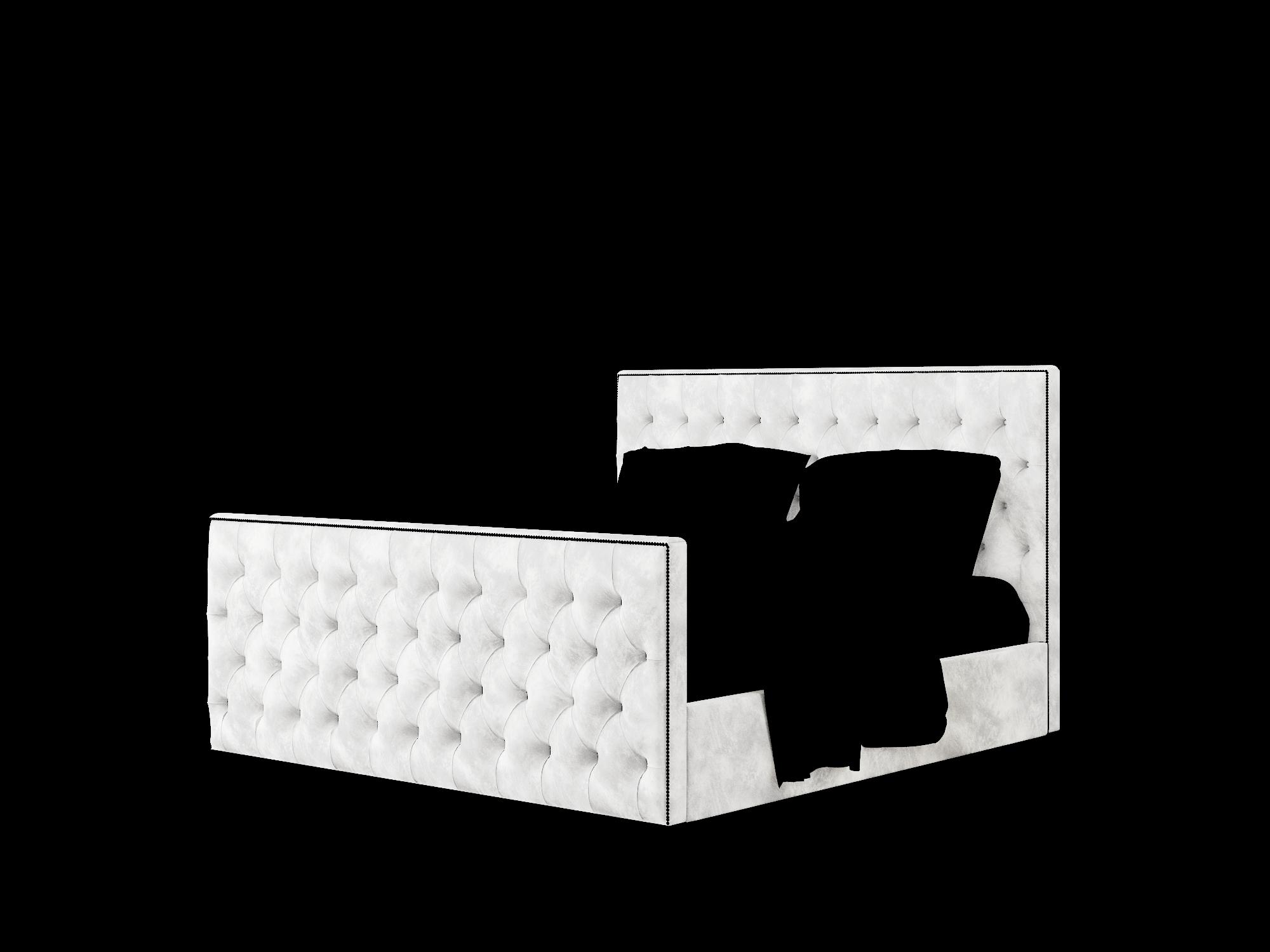 Rimini Loft Snowfall Bed King Room Texture