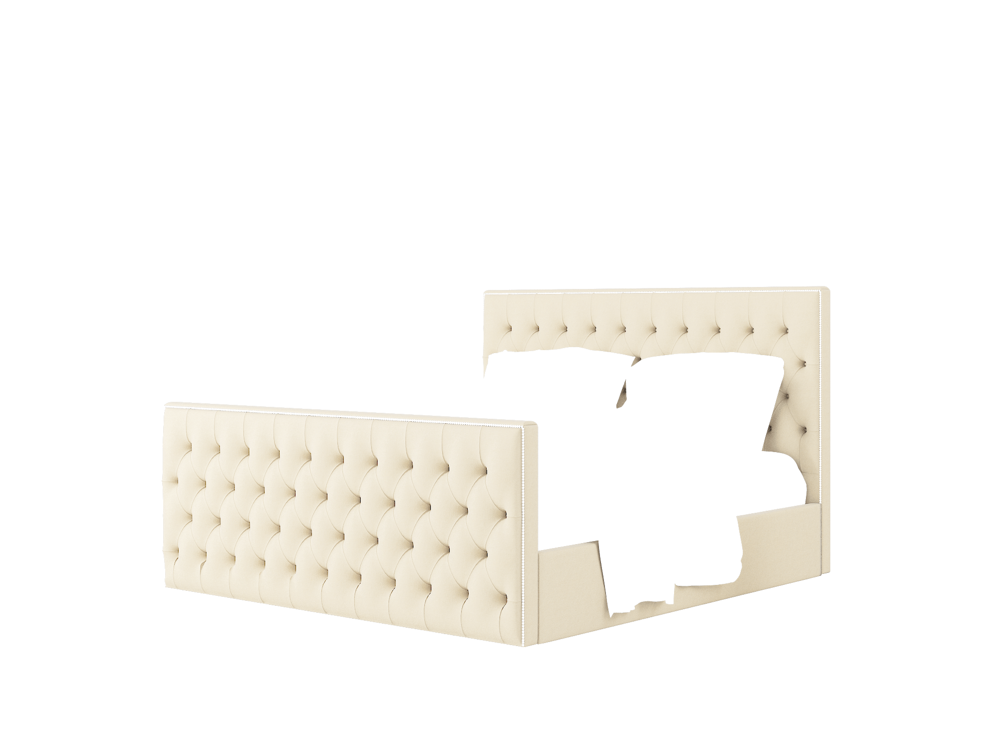 Rimini Noble Buckwheat Bed King Room Texture