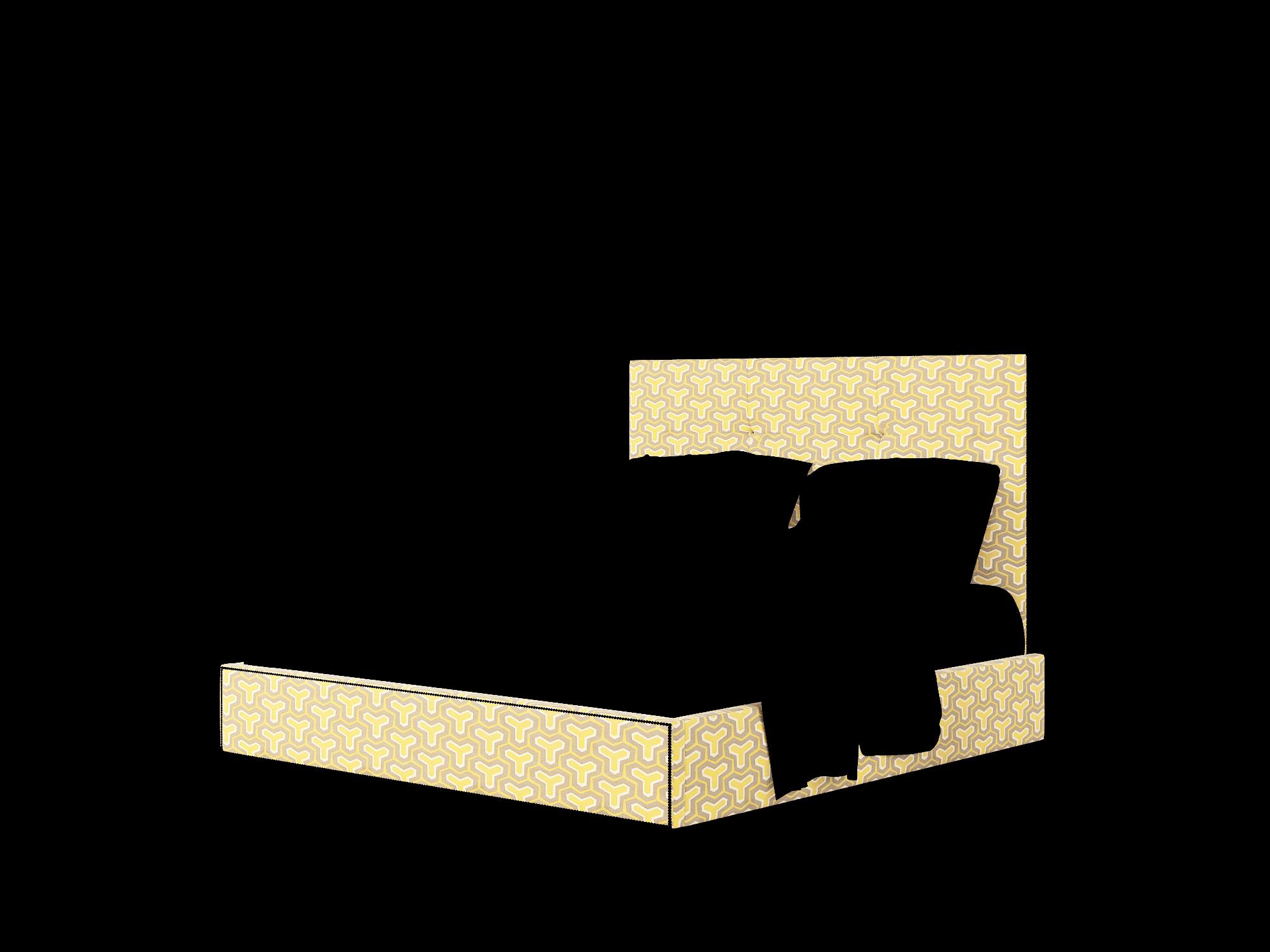 Talia Merci Dijon Bed King Room Texture