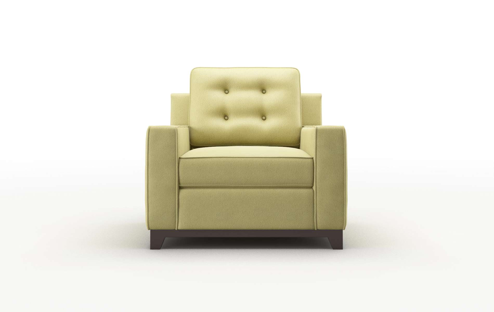 Alexandria Bella Apple Chair espresso legs 1