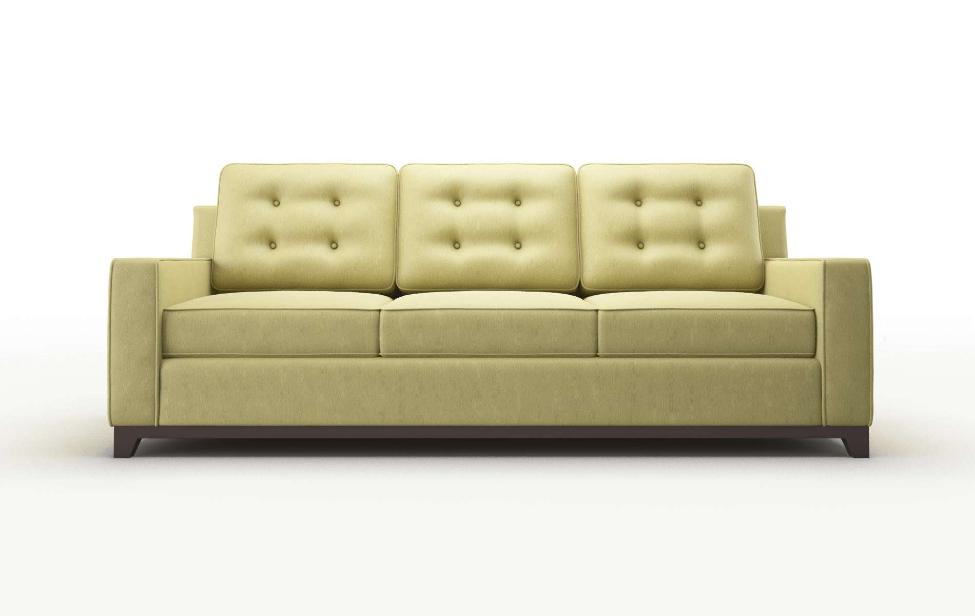 Alexandria Bella Apple Sofa espresso legs 1