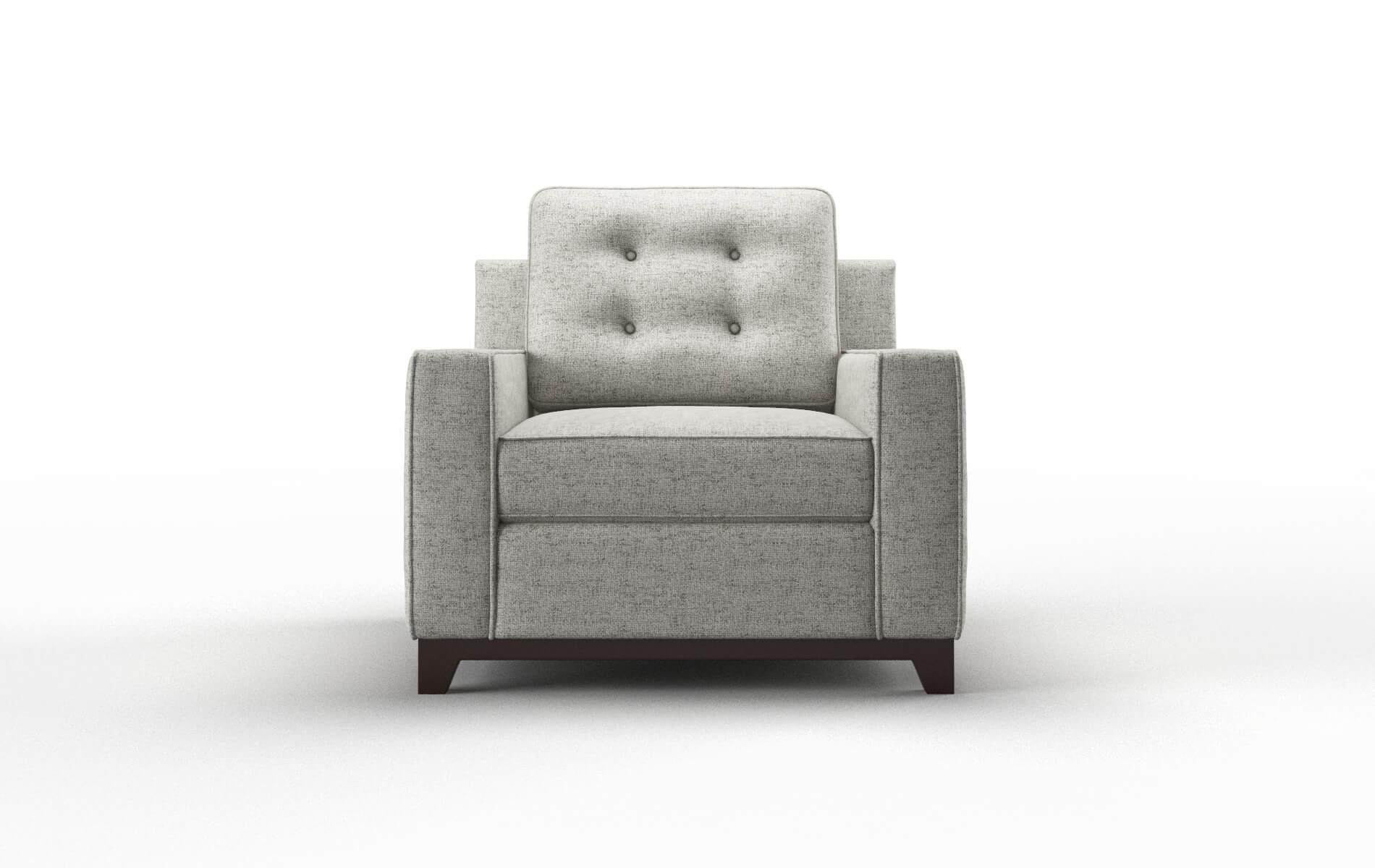 Alexandria Oceanside Granite Chair espresso legs 1