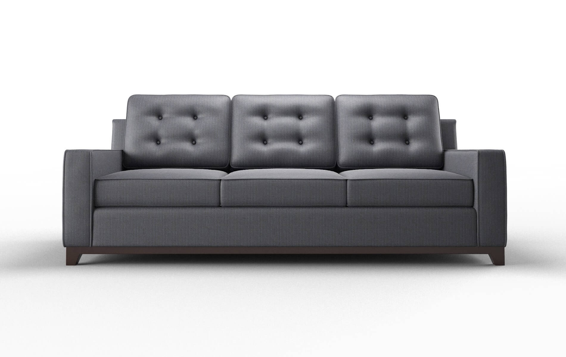 Alexandria Parker Midnight Sofa espresso legs 1