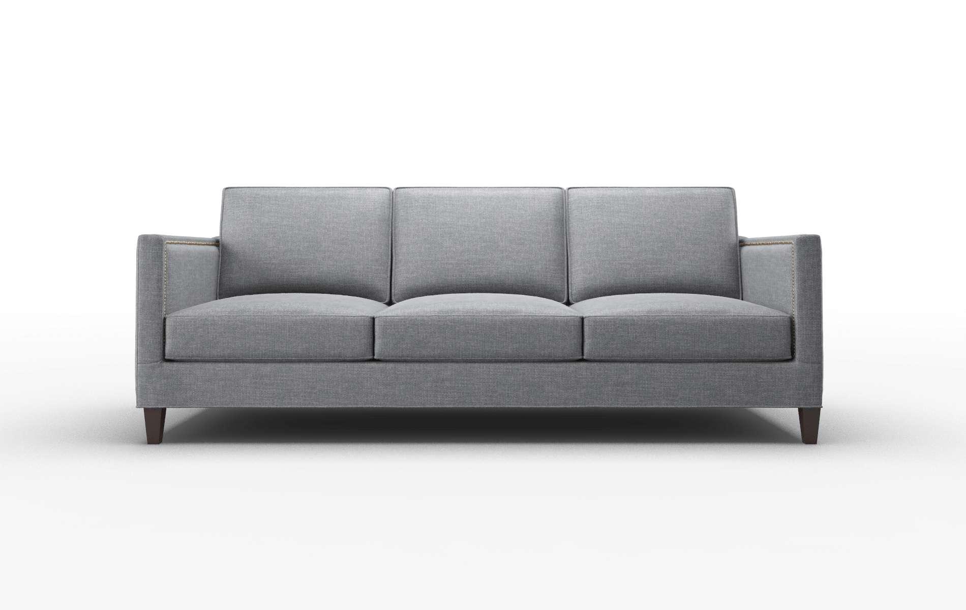 Alps Keylargo Graphite Sofa espresso legs 1