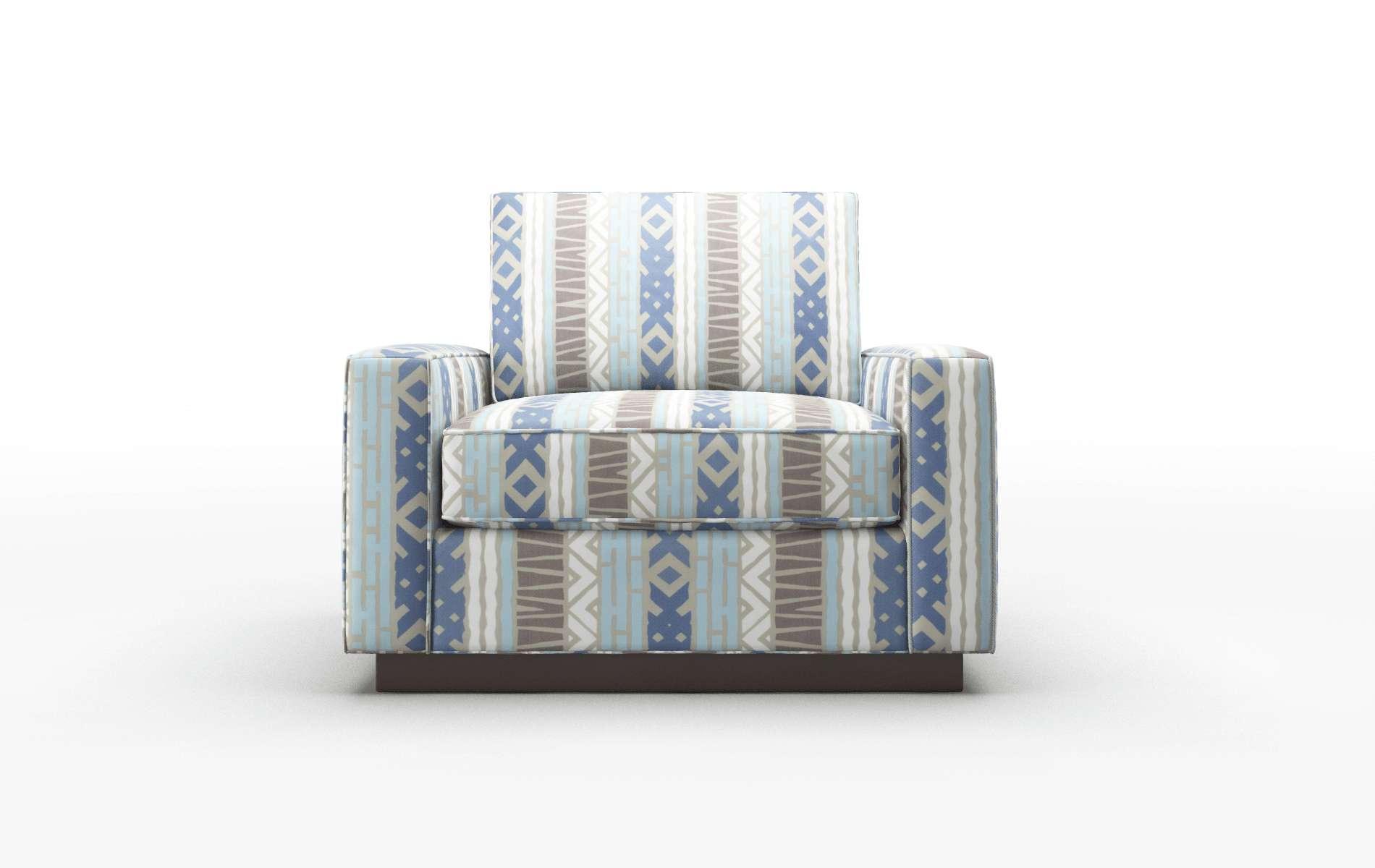 Alton Bodhi Indigo Chair espresso legs 1