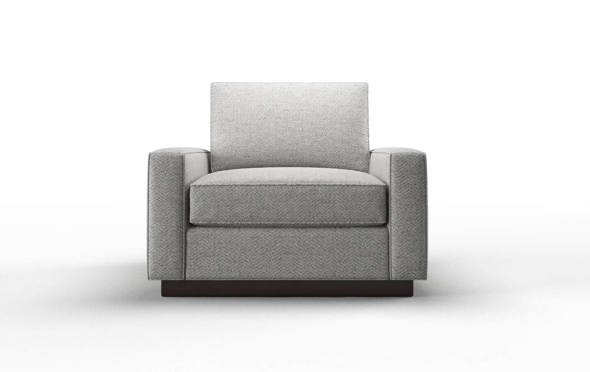 Alton Catalina Silver chair espresso legs