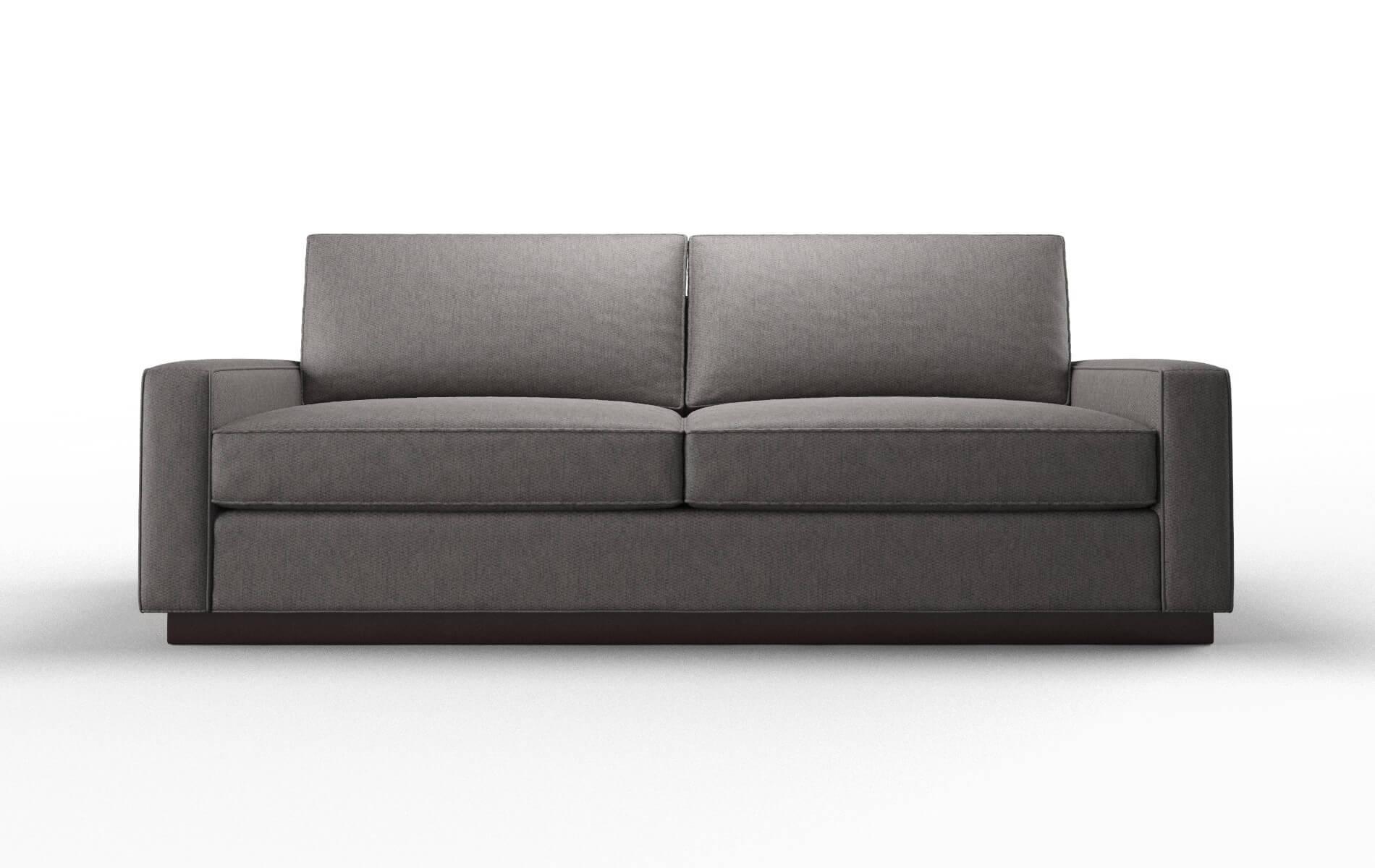 Alton Cosmo Charcoal Sofa espresso legs 1
