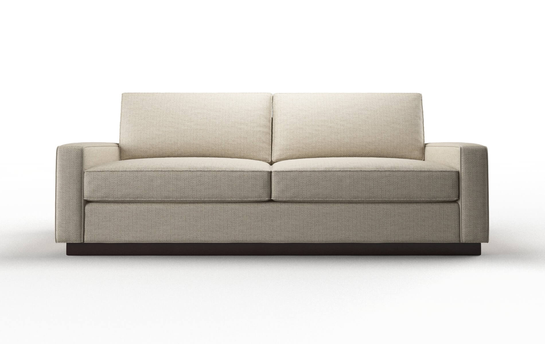 Alton Parker Linen Sofa espresso legs 1