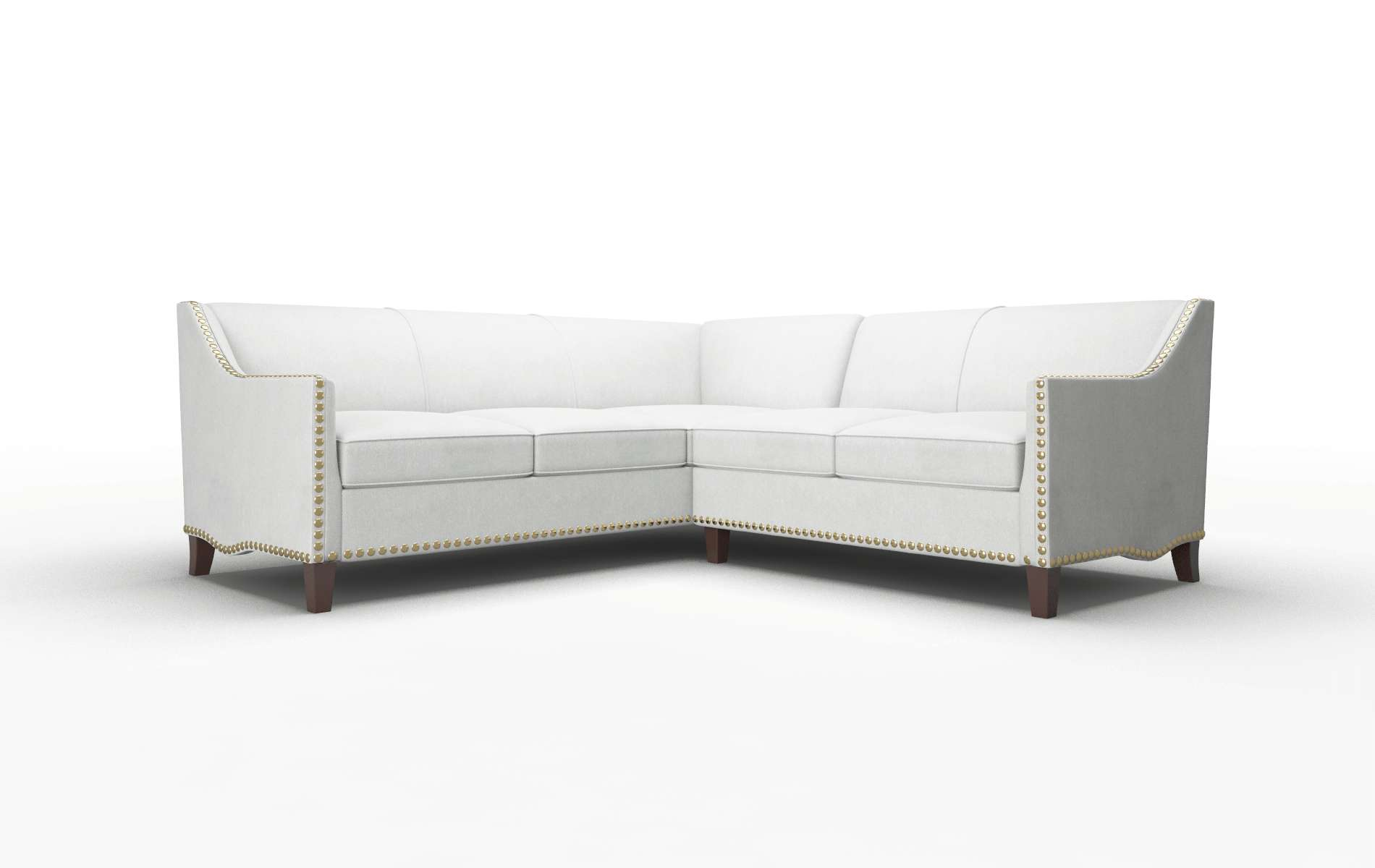 Amsterdam Geo Sterling Sectional espresso legs 1