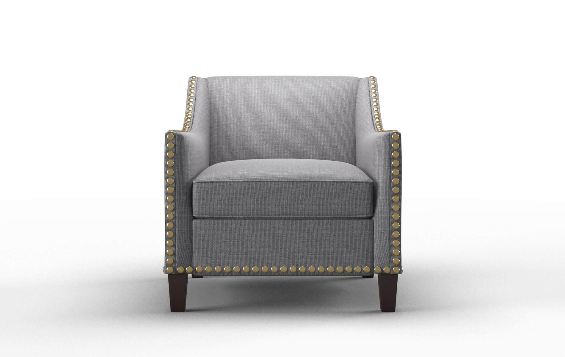 Amsterdam Parker Ash Chair espresso legs 1