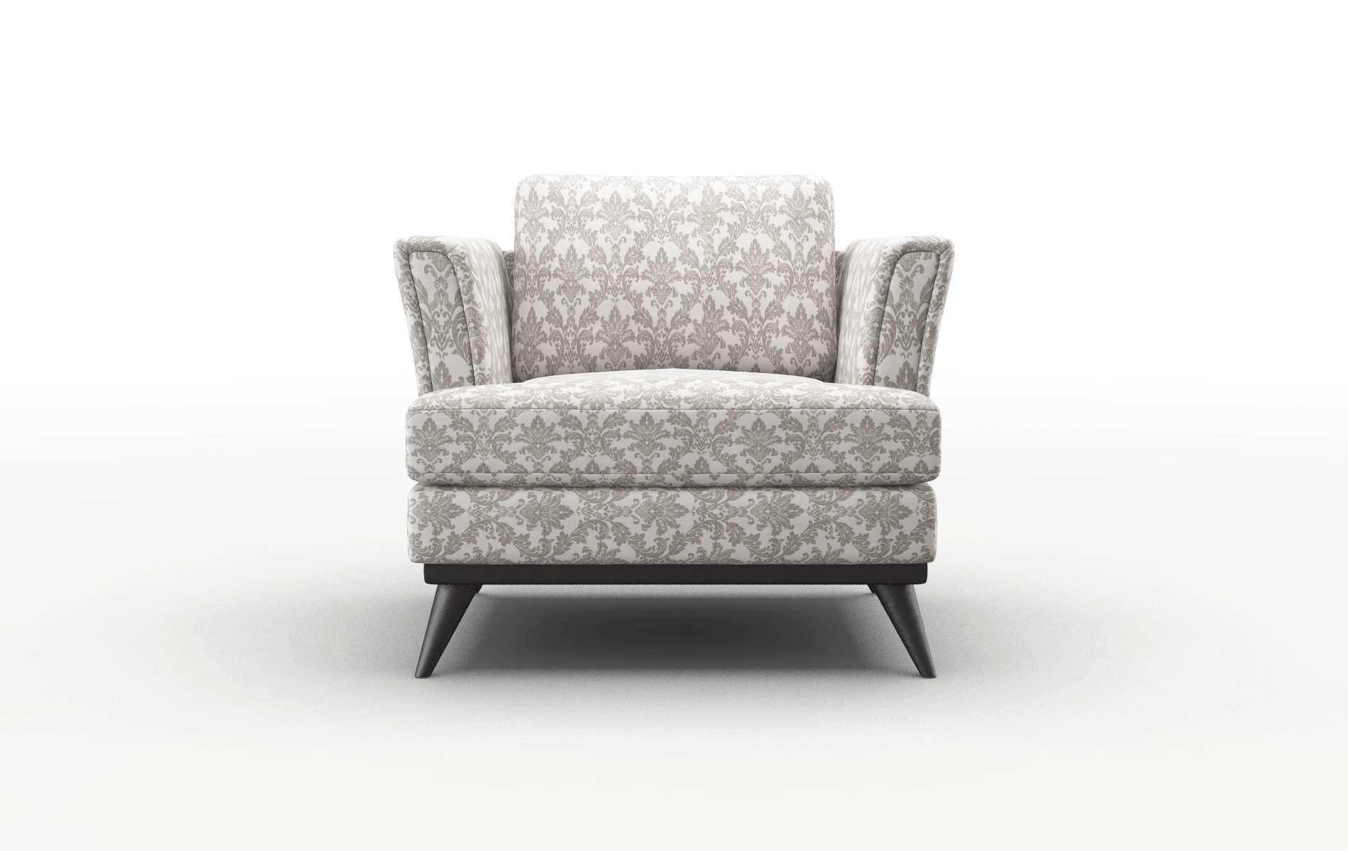 Antalya Bergamo Dove Chair espresso legs 1