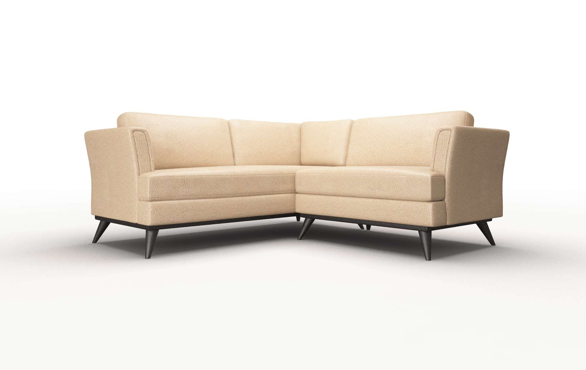 Antalya Ford Dune Sectional espresso legs 1