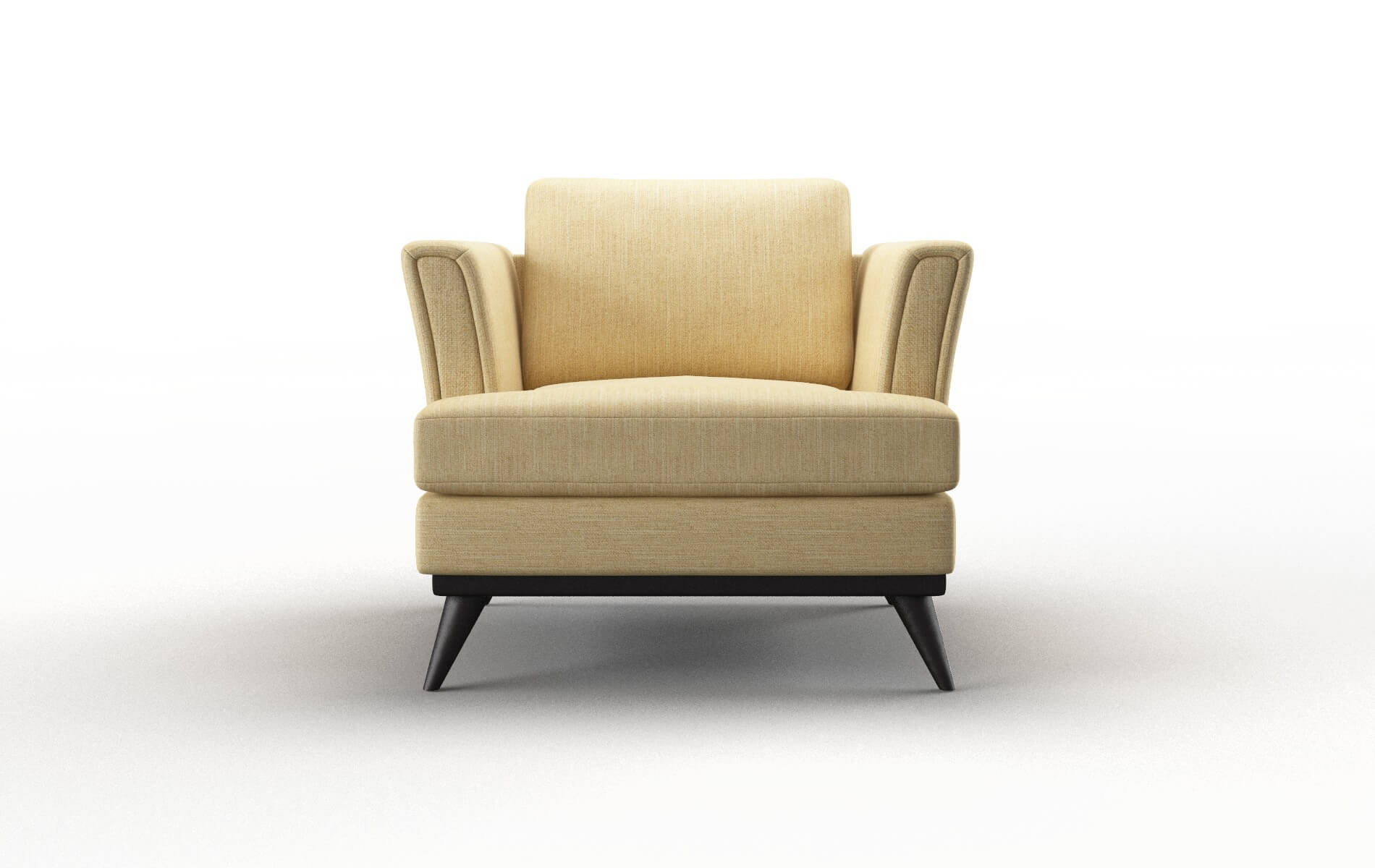 Antalya Malibu Maize Chair espresso legs 1