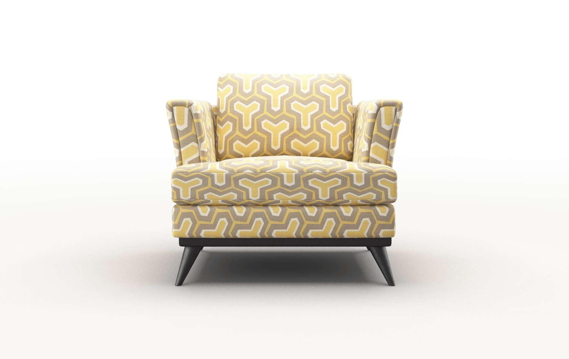 Antalya Merci Dijon Chair espresso legs 1