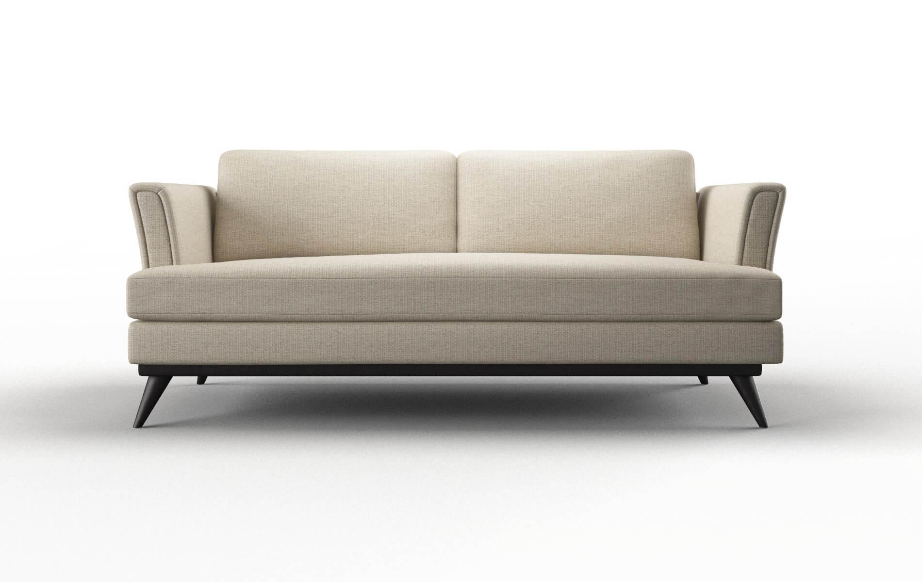 Antalya Parker Linen Sofa espresso legs 1