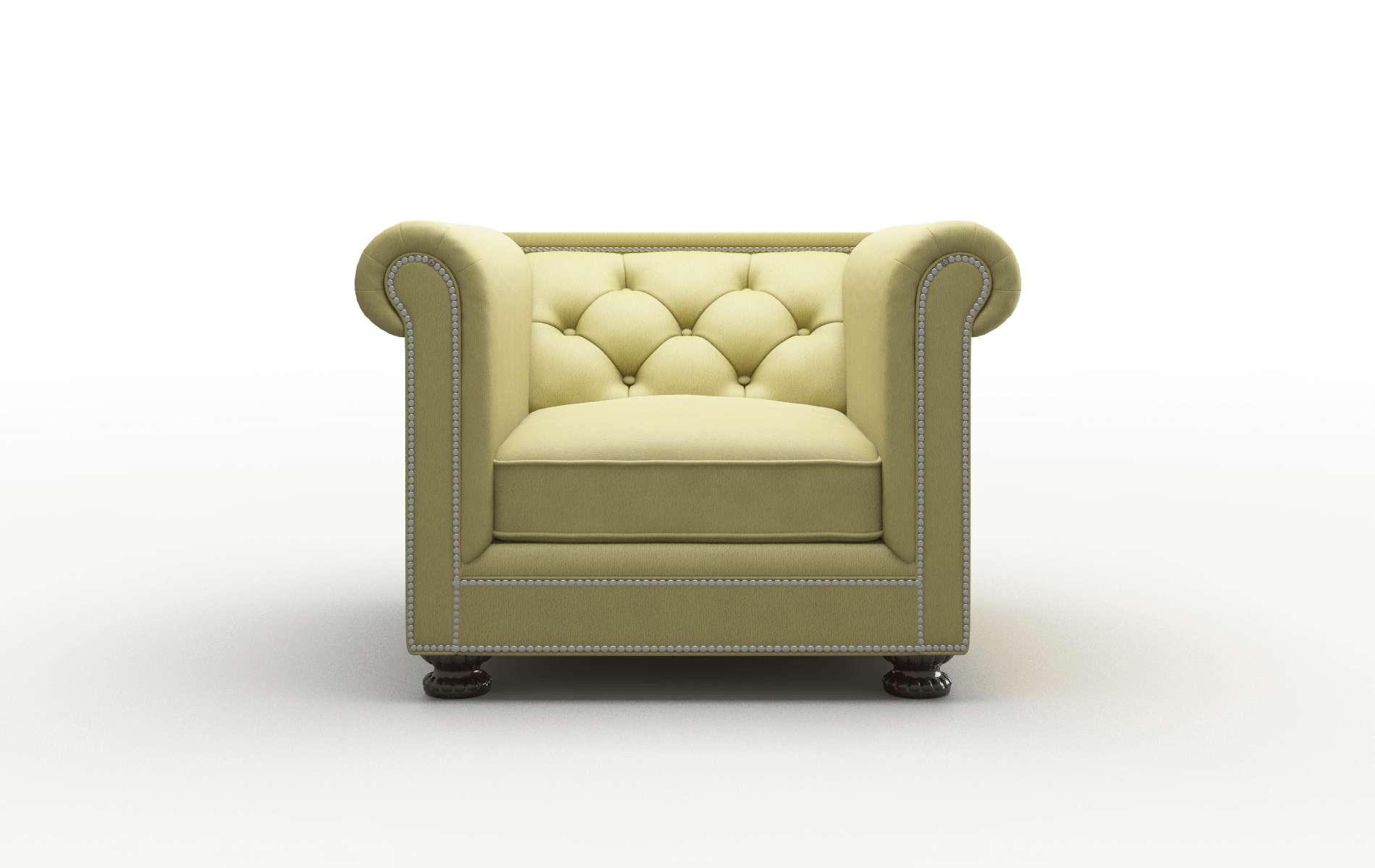 Athens Bella Apple chair espresso legs